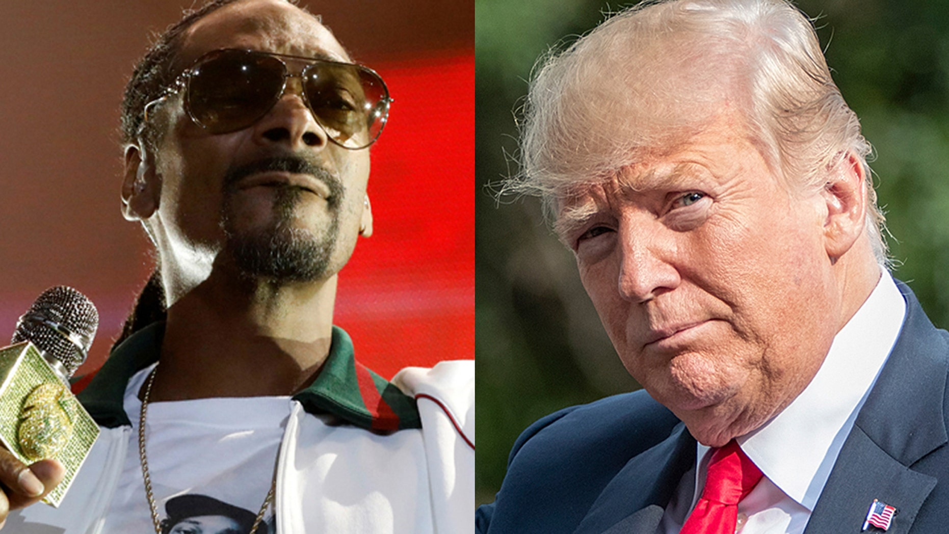 Snoop Dogg called out President Trump's supporters, including rapper Kanye West, for their support.