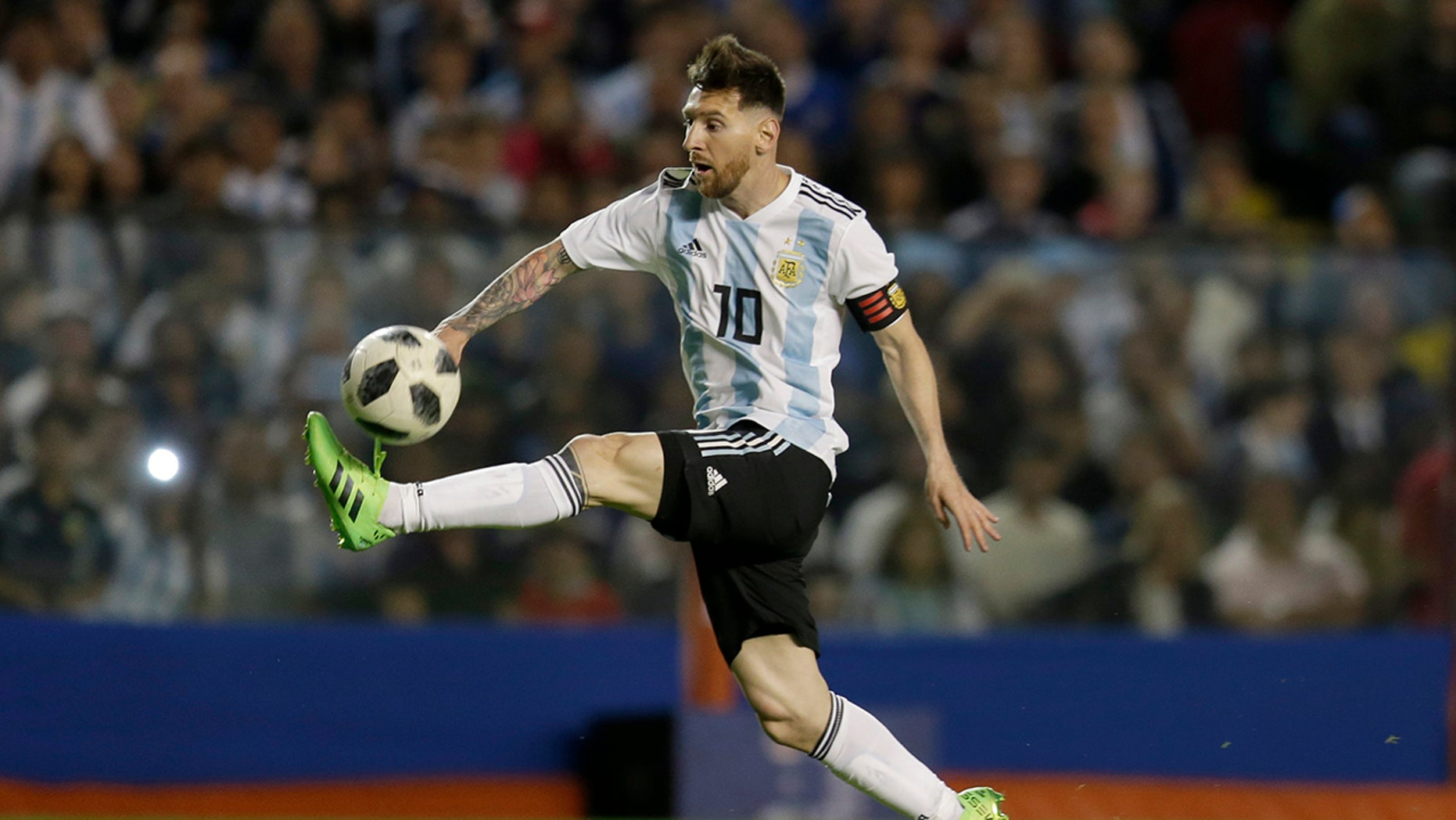 Argentine inmates hope to watch Lionel Messi play in the World Cup.