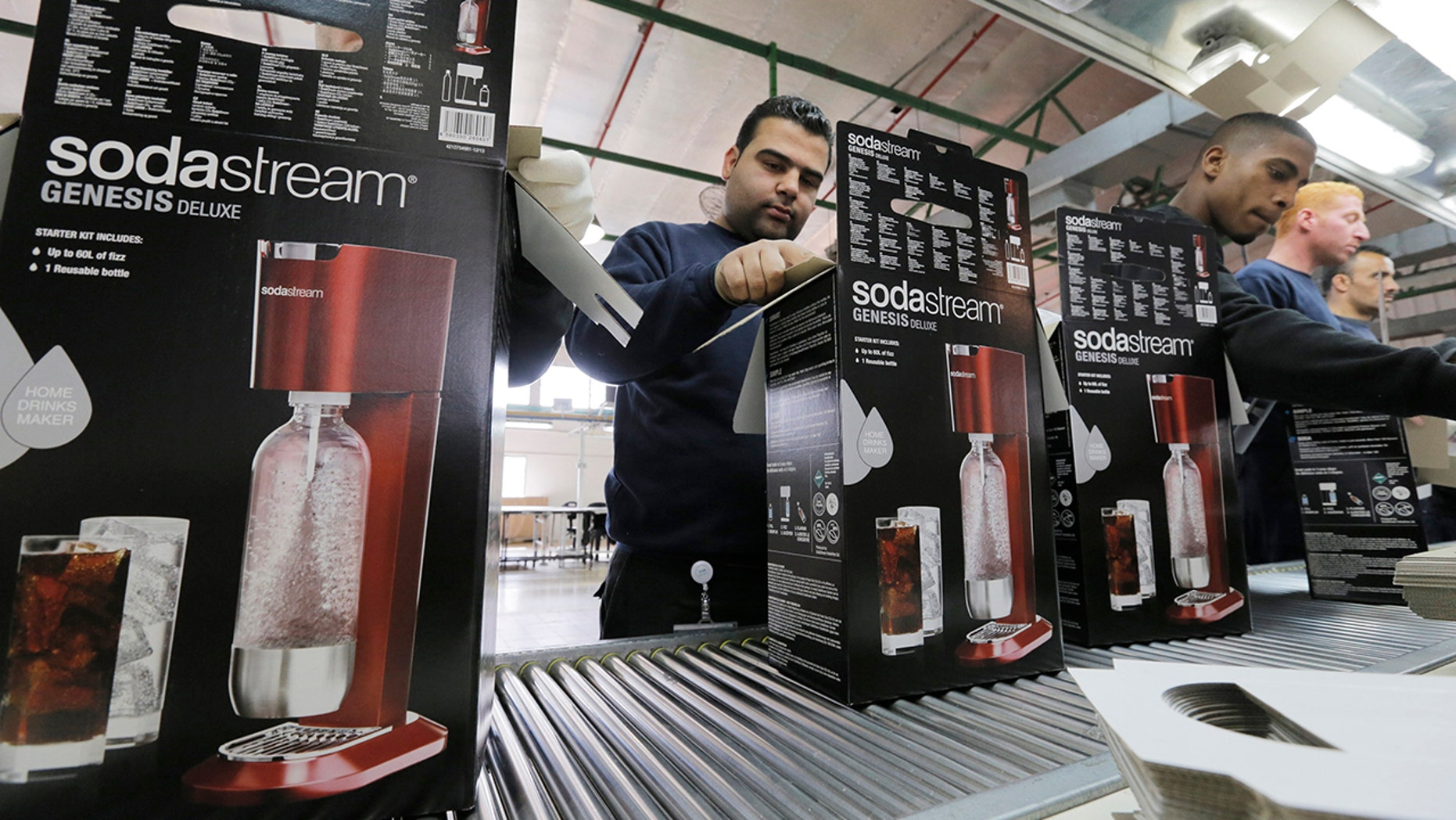 Sodastream is rolling out a new alcoholic offering just in time for Christmas.