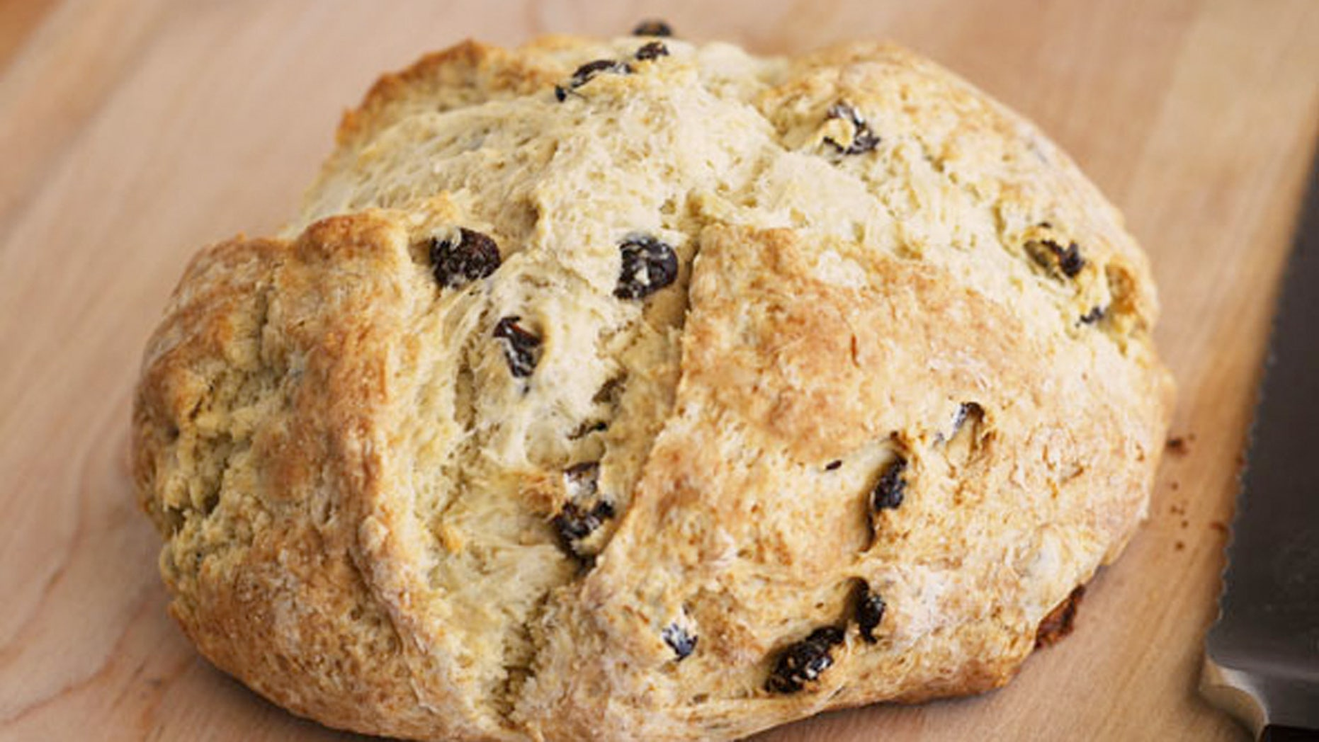 The cross on the top of the Irish soda bread has Christian and superstitious meanings, like being there to bless the bread or to drive the devil from it.