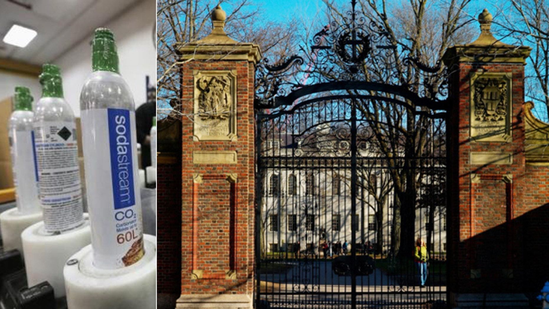A ban of SodaStream products, lobbied for by pro-Palestinian students, was reversed by Harvard's top brass. (Reuters, AP)