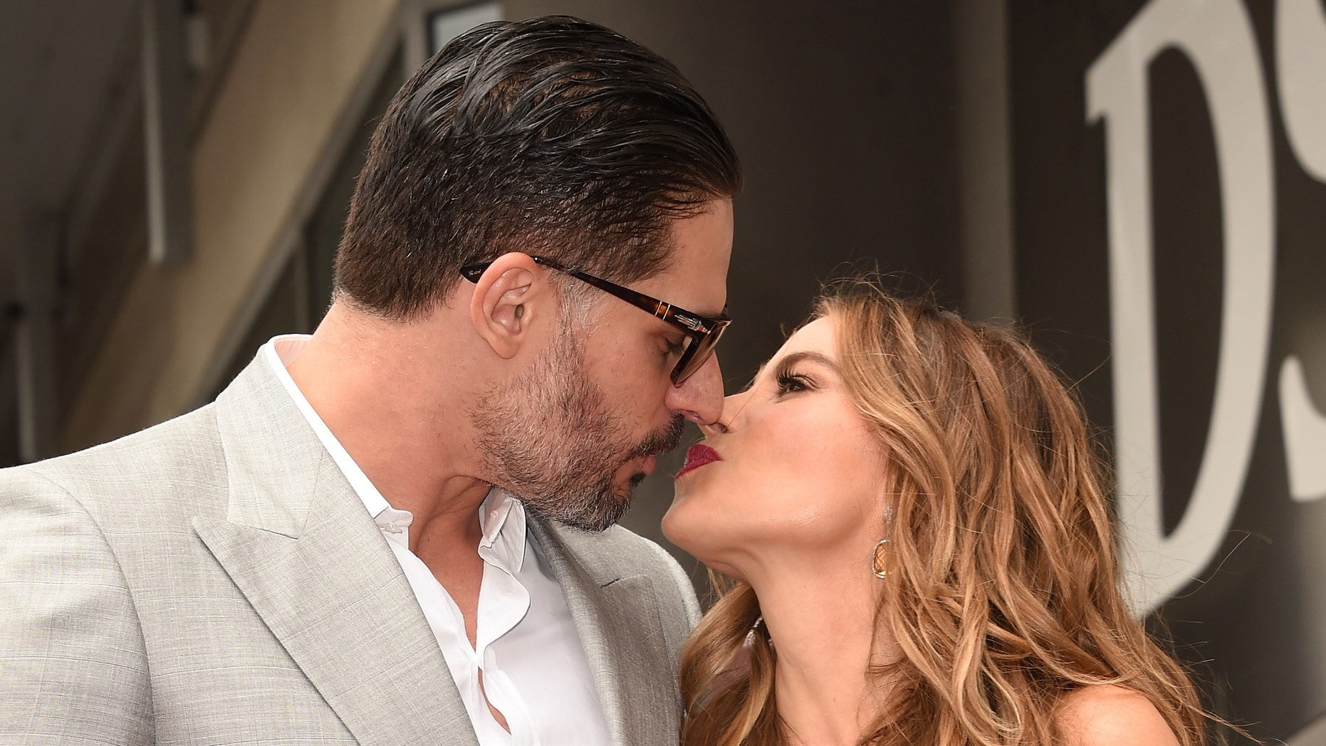 HOLLYWOOD, CA - MAY 07:  Actor Joe Manganiello poses with Sofia Vergara as she is honored on The Hollywood Walk Of Fame on May 7, 2015 in Hollywood, California.  (Photo by Jason Merritt/Getty Images)