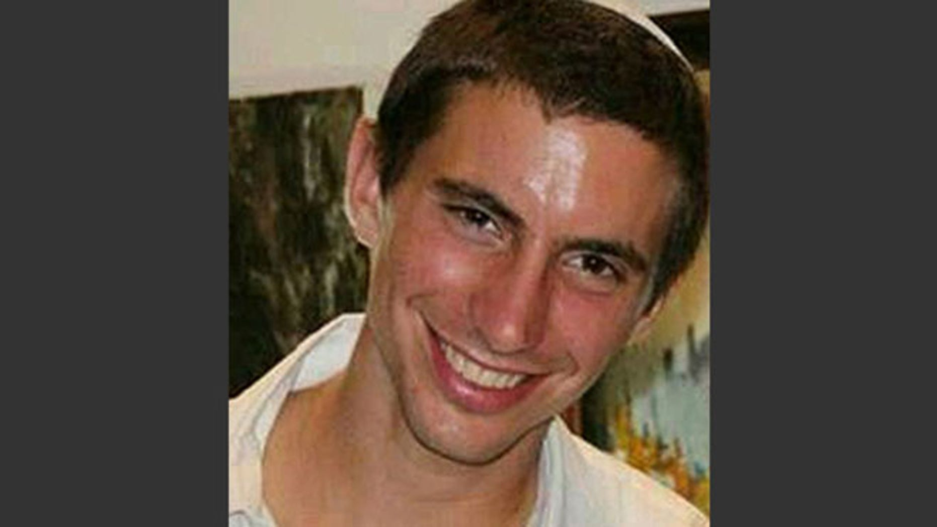This undated photo shows Israeli Army 2nd. Lt. Hadar Goldin, 23, from Kfar Saba, central Israel.