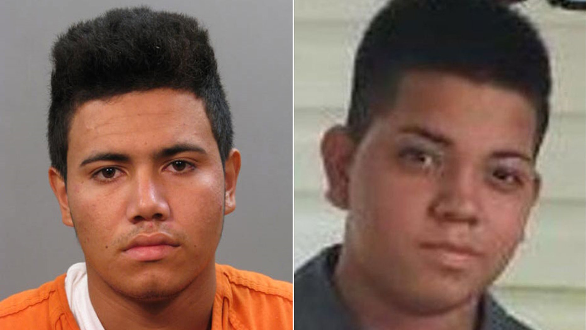 Josue Figueroa-Velasquez, left, has now been charged in the murder of 16-year-old Angel Soler, whose body was found last year in New York's Long Island.