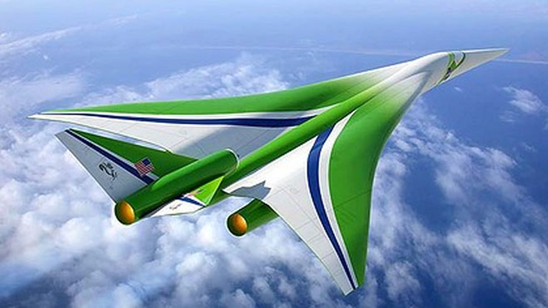 The designs for the 'Son of Concorde' will be sketched out at next month's Farnborough air show in London.