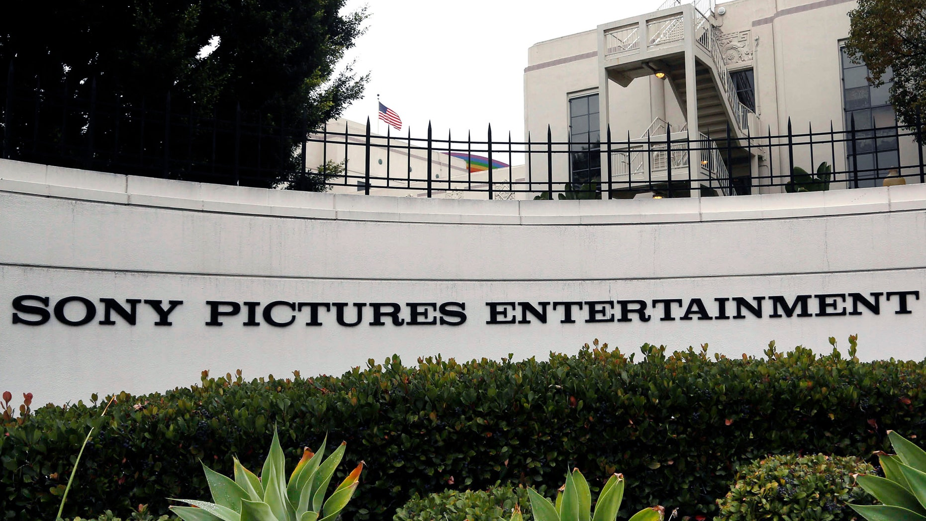 Dec. 2, 2014: Sony Pictures Entertainment headquarters in Culver City, Calif.