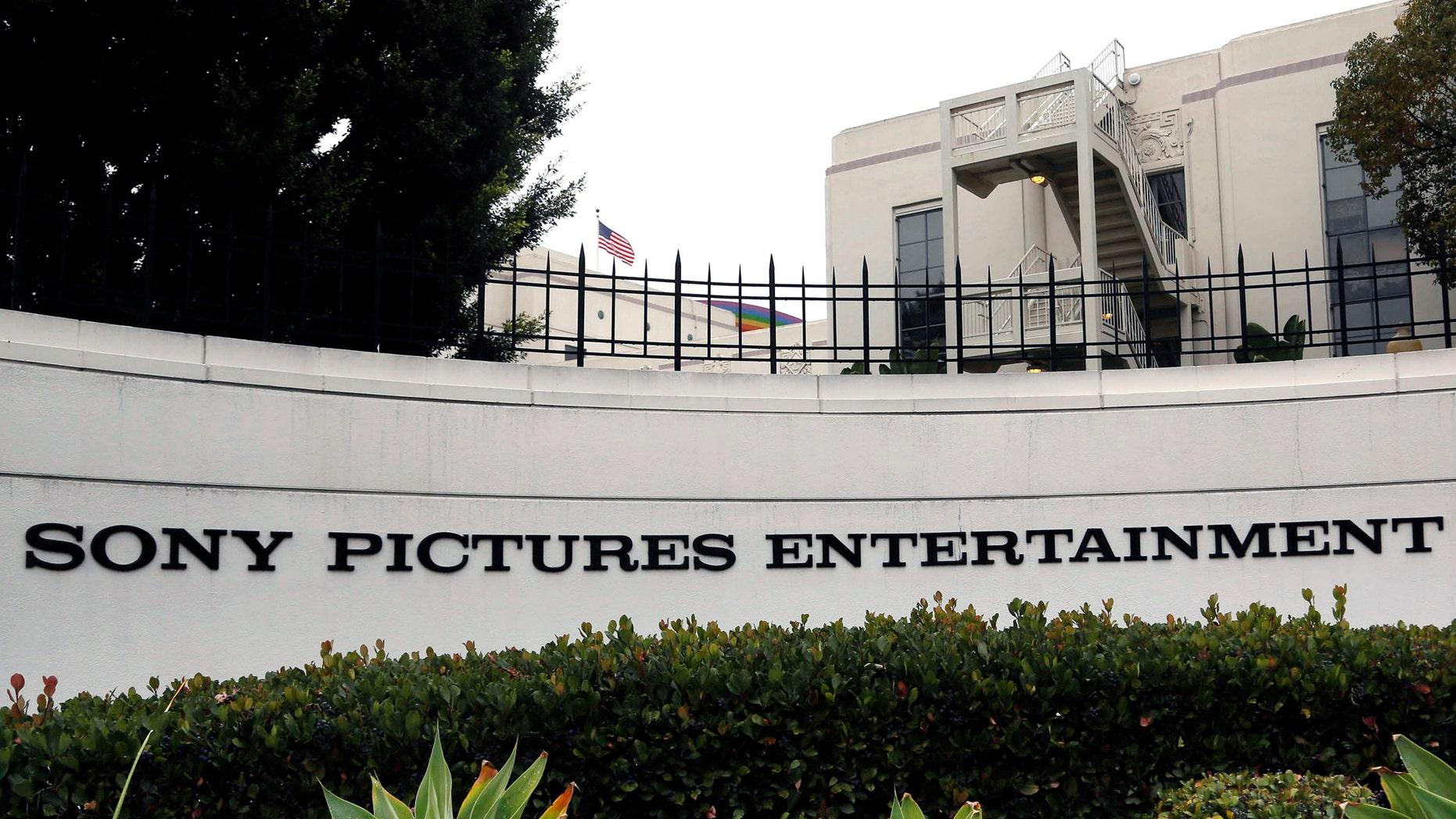 Dec. 2, 2014. Sony Pictures Entertainment headquarters in Culver City, Calif.
