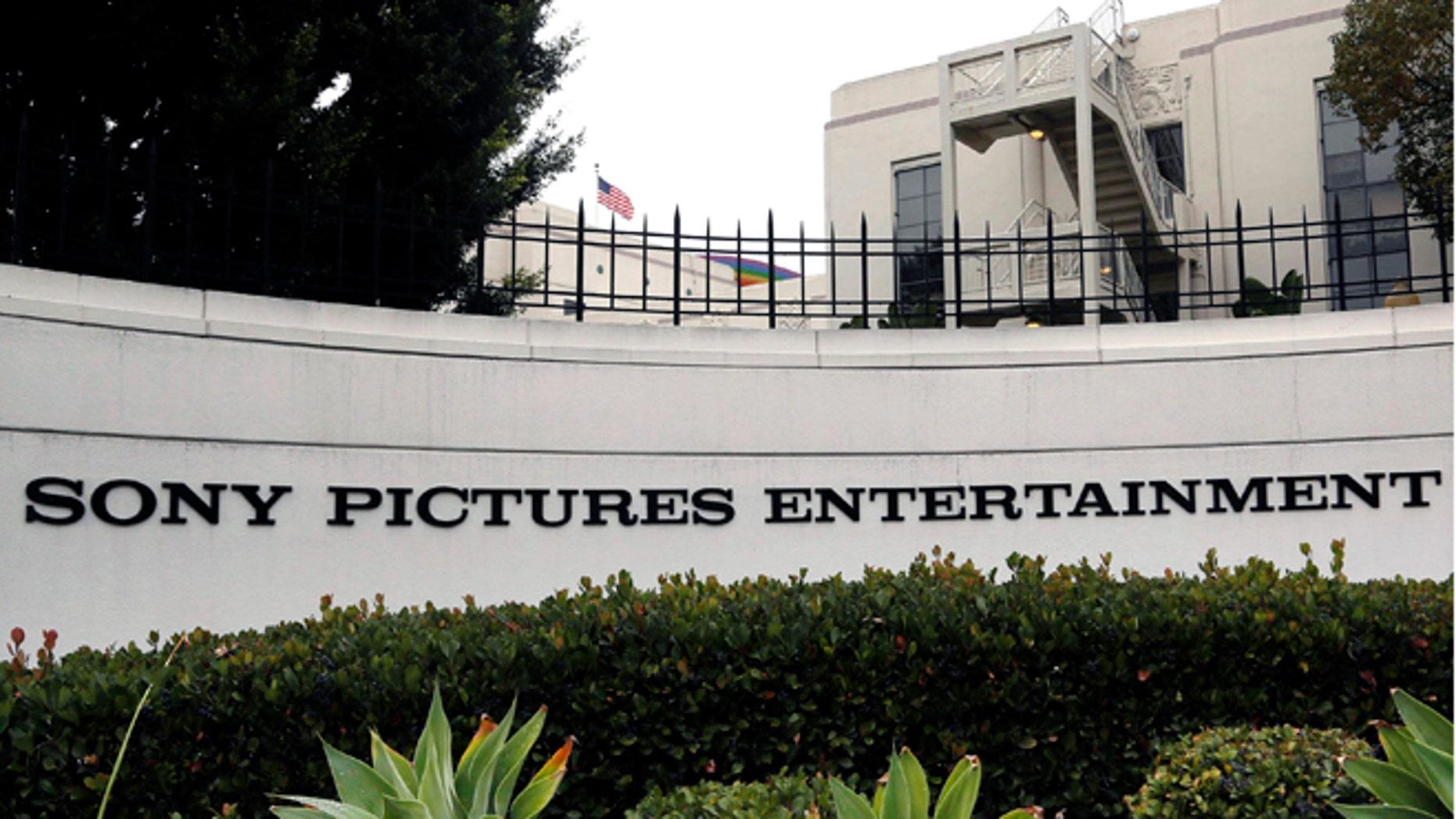 Dec. 2, 2014: Sony Pictures Entertainment headquarters in Culver City, Calif. (AP)