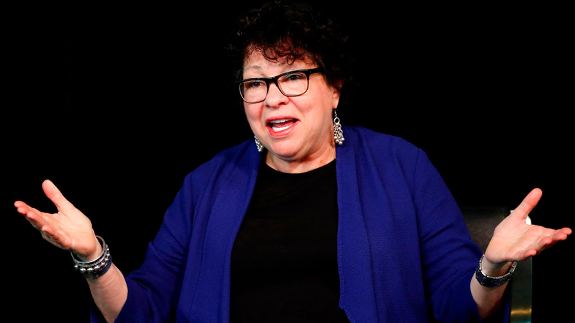 Justice Sotomayor broke her shoulder in a fall at home, the Supreme Court announced Tuesday.