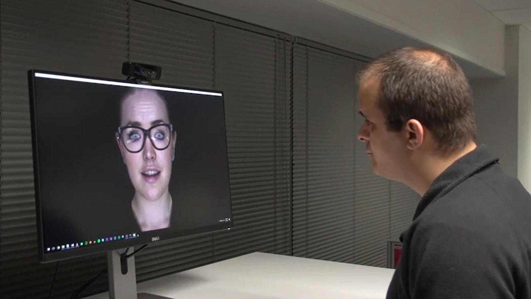 Screenshot from Soul Machines video (Soul Machines).