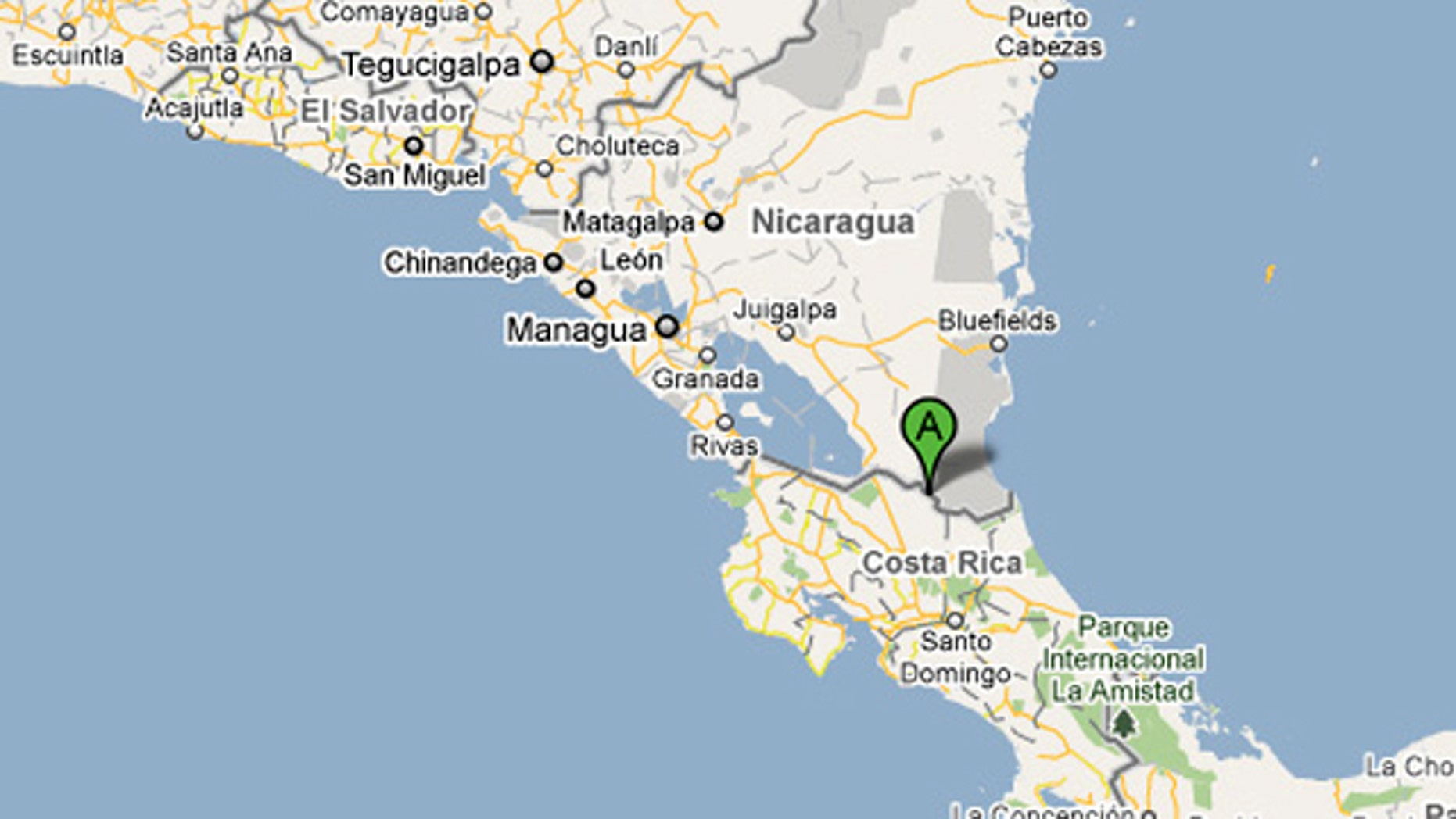 Oops! Google Maps Error Sparks South American Invasion | Fox ...