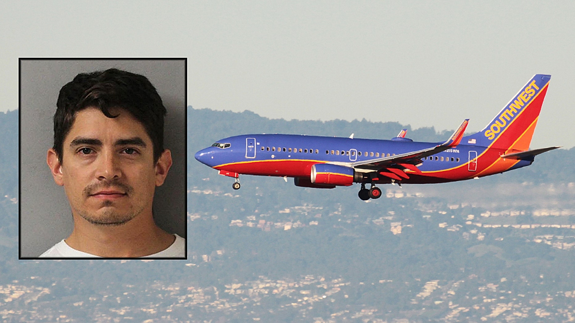 A Texas man was arrested after a passenger accused him of sexual assault.