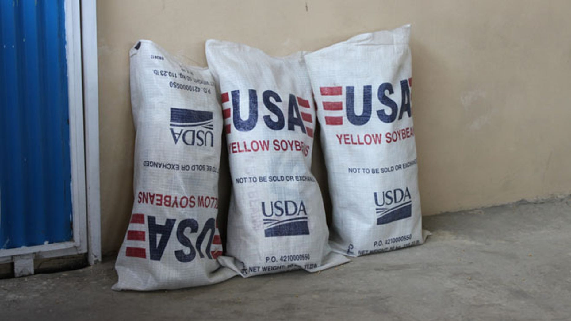 Special IG for Afghanistan Reconstruction picture of US soybeans