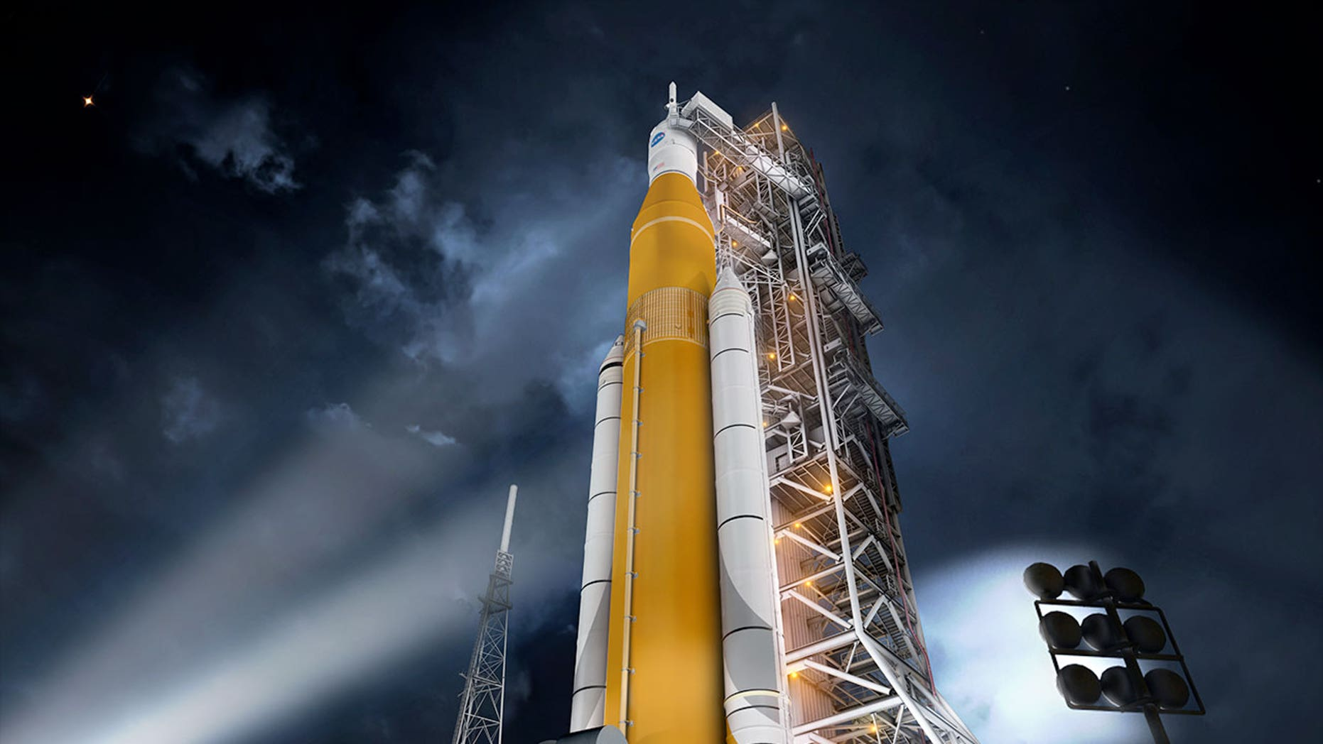 Space Launch System Design Review Image