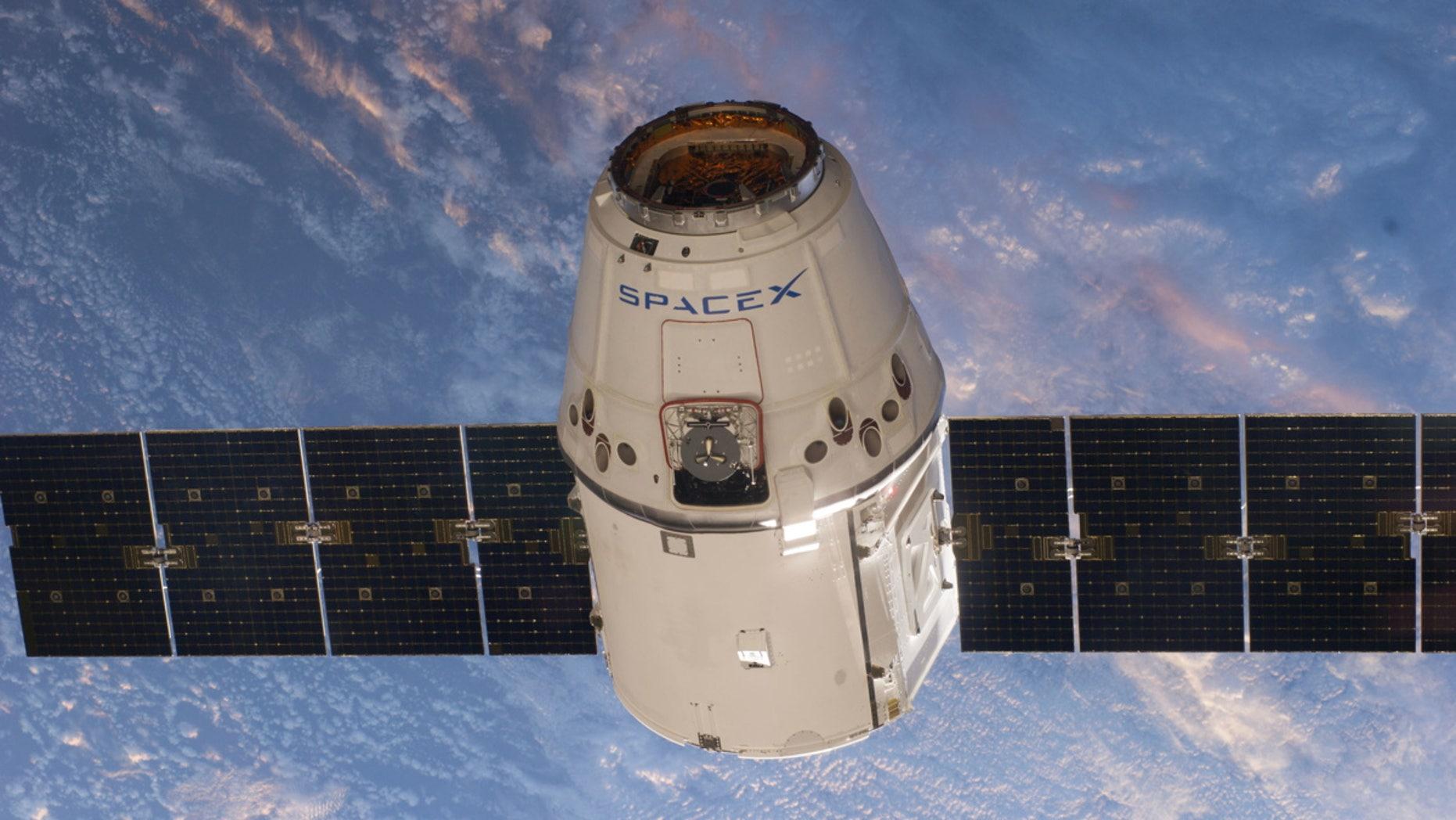 SpaceX Dragon Cargo Capsule