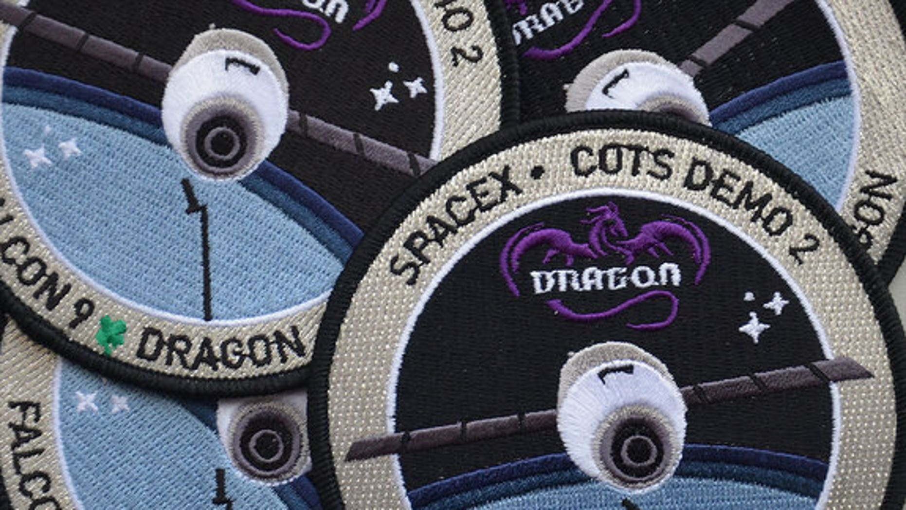 SpaceX is offering just 200 sets of its limited edition space mission patches through its online apparel and accessories store at shop.spacex.com.