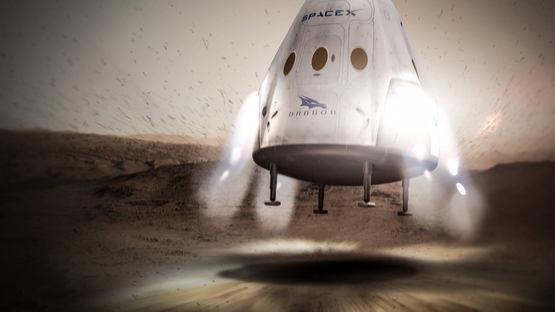 The private spaceflight company SpaceX announced Wednesday (April 27) that will begin launching Dragon space capsules to Mars as early as 2018.