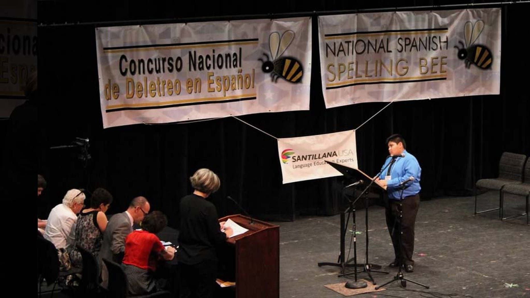 The 4th Annual National Spanish Spelling Bee in New Mexico.
