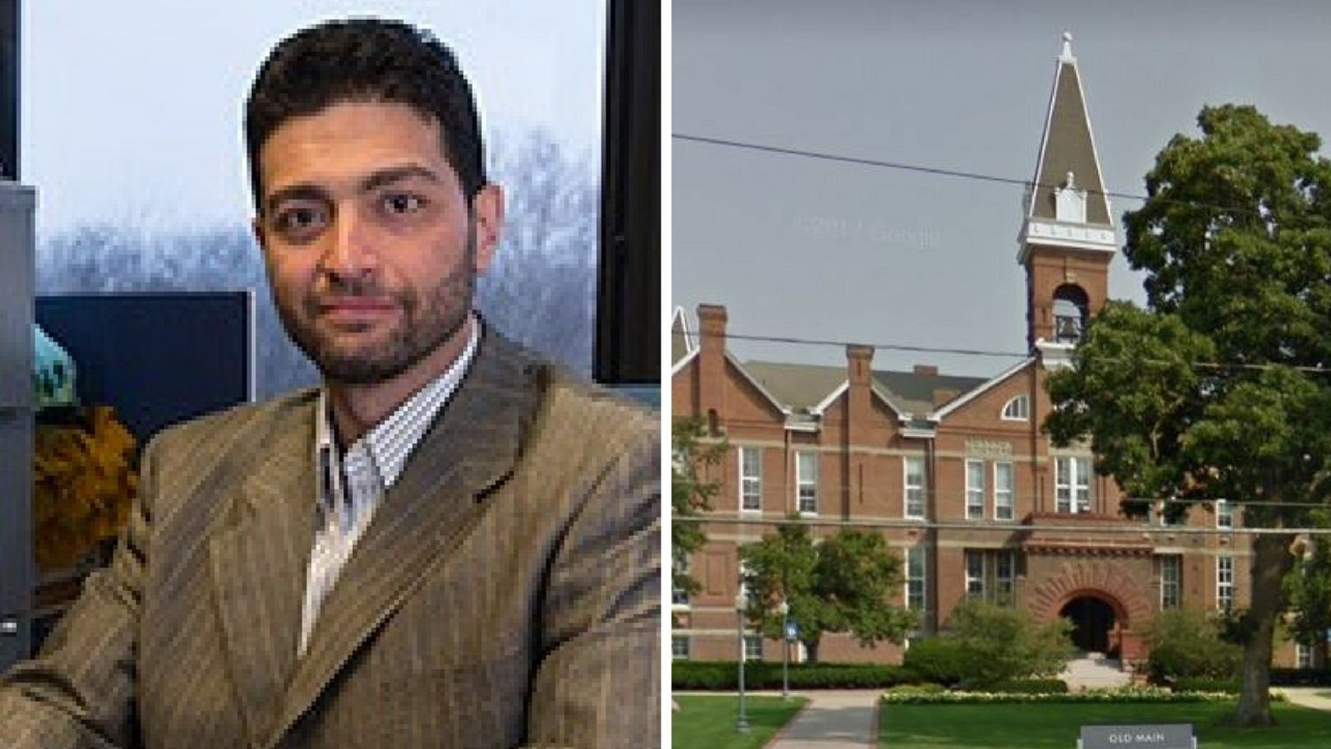 Mahmoud Hamad, an associate professor at Drake University, was accused of spanking female students.