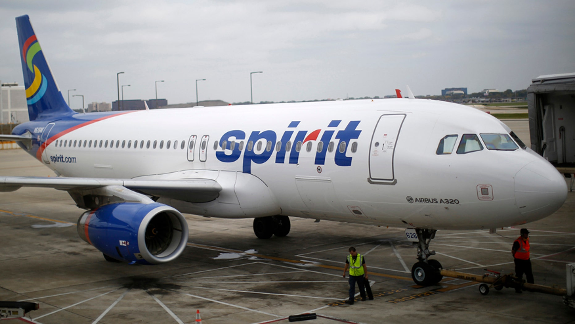 A Spirit Airlines flight leaving Las Vegas this weekend was delayed after a male passenger reportedly got naked while boarding and approached a flight attendant.