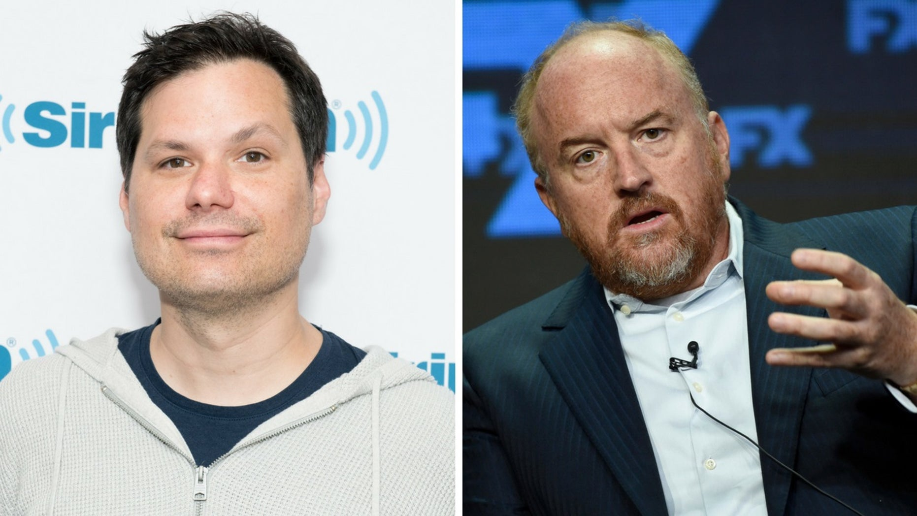 Michael Ian Black was slammed on social media after defending Louis C.K.'s return to stand-up following sexual misconduct allegations.