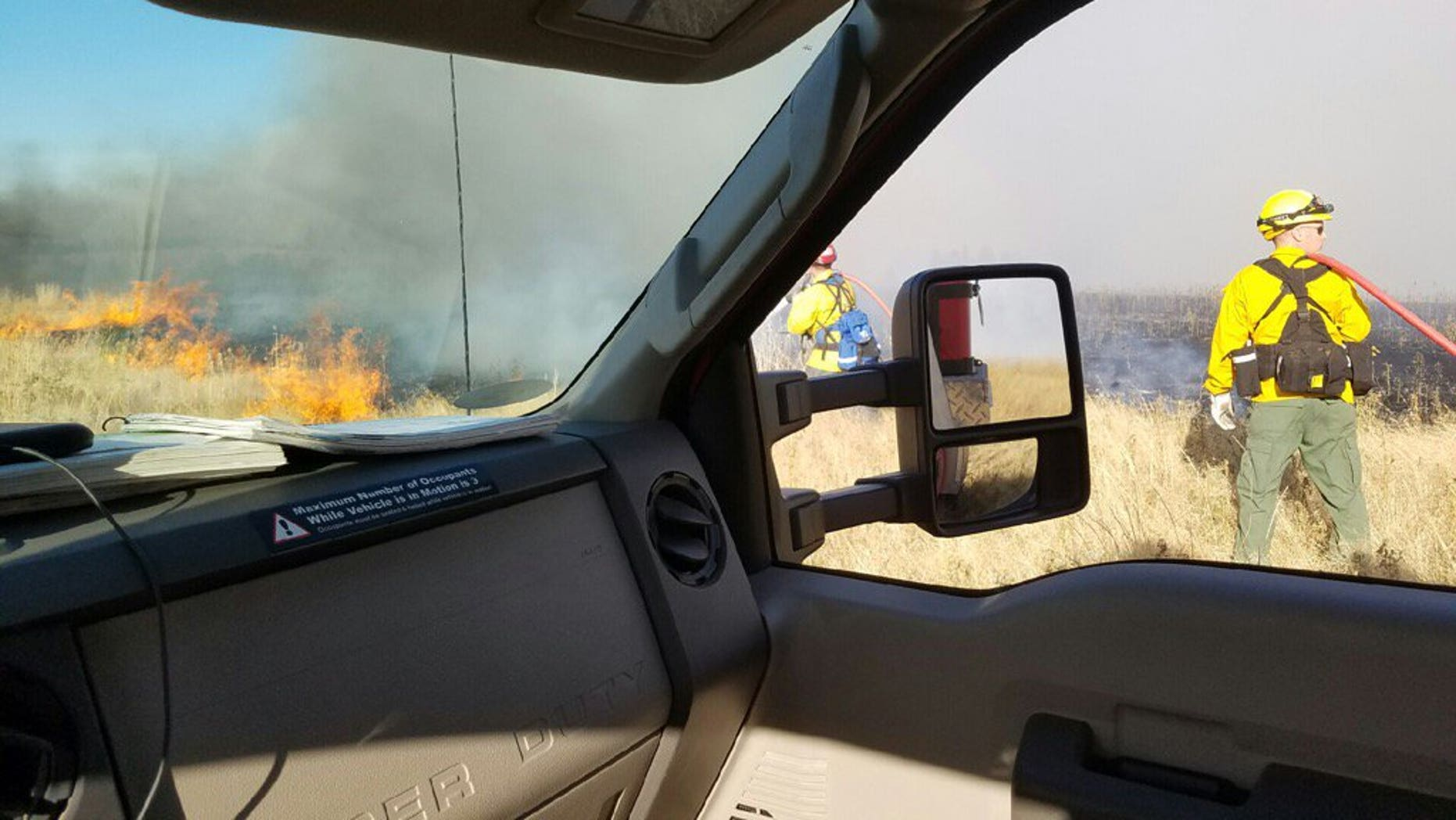 The Yale Road Fire in Washington state.