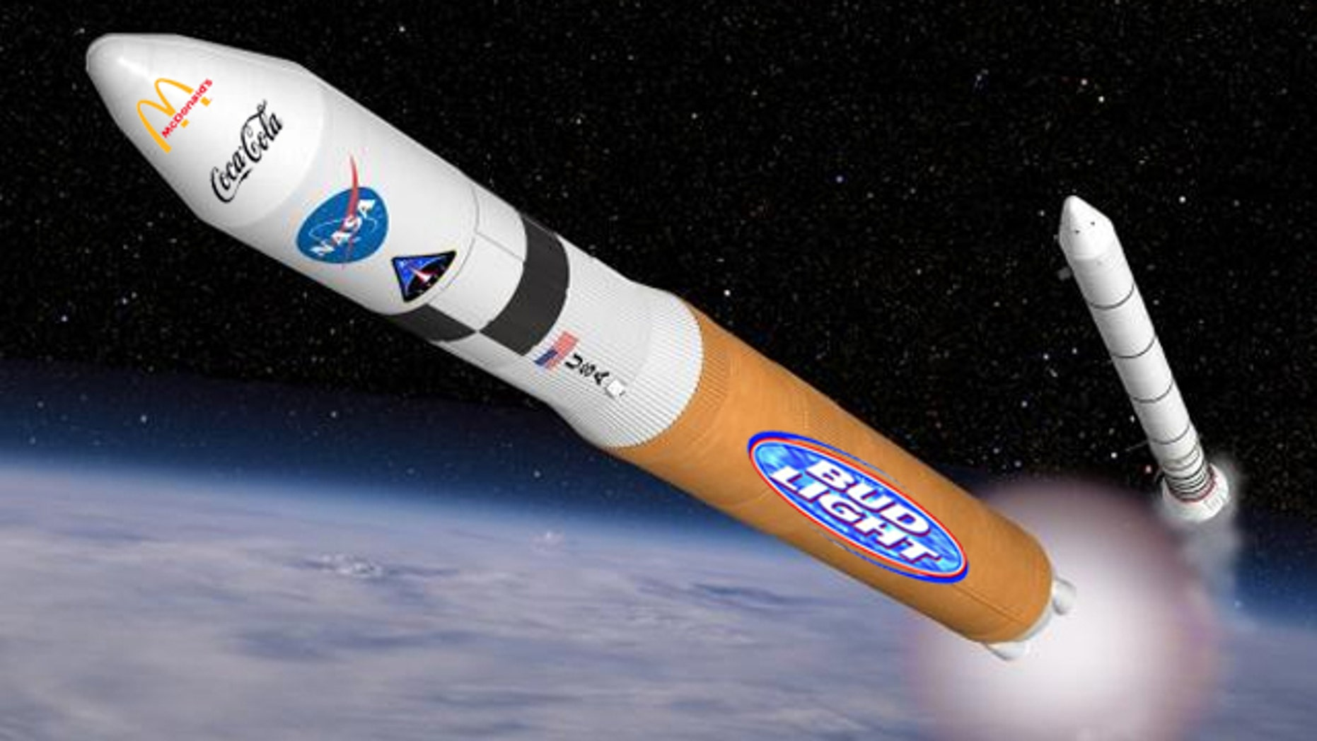 Corporate sponsorships may be the key funding boost for a mission to Mars, researchers say.