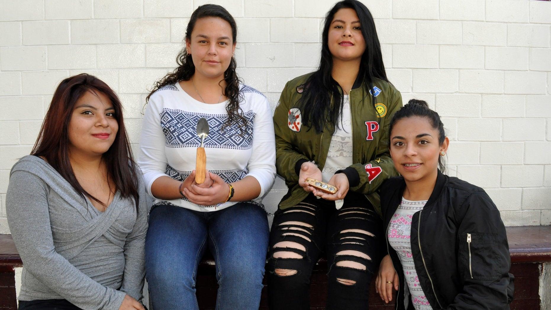 Tania Yolotzin, Andrea Moreno, Maria Caudillo and Cinthia Padilla.