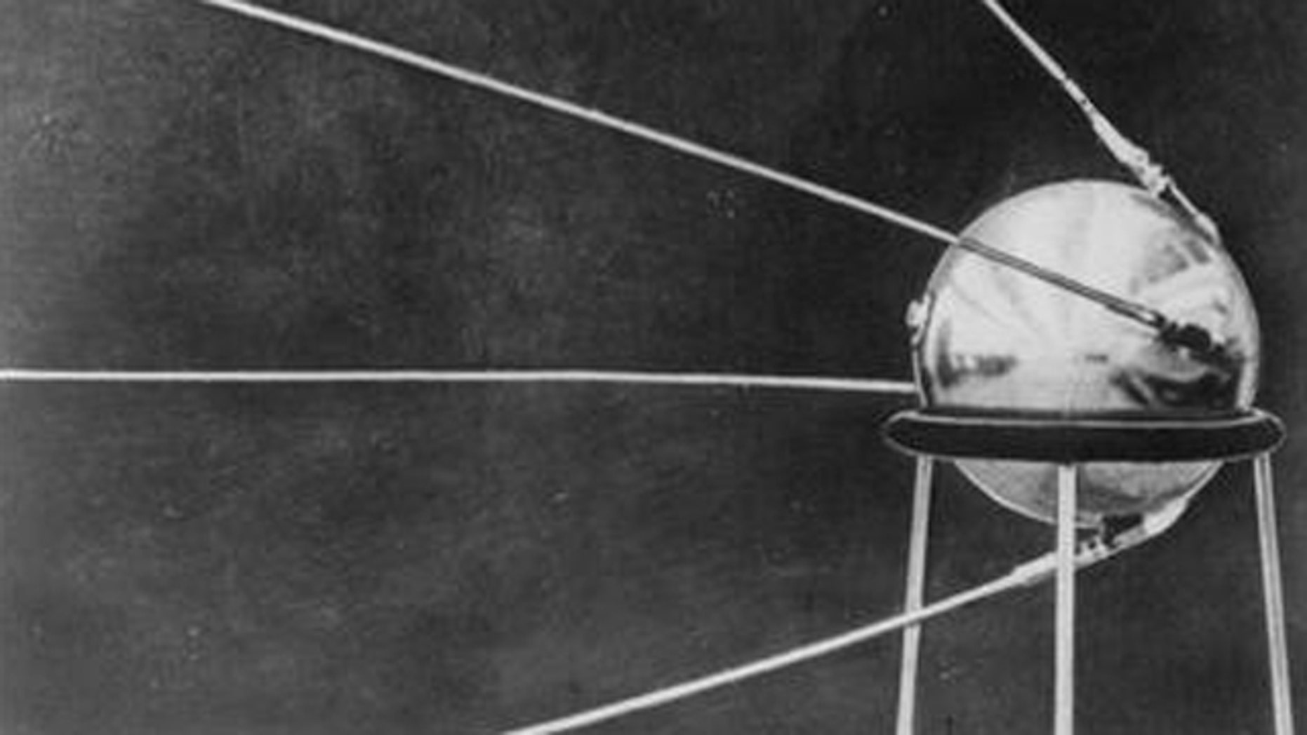 Shown here is a 1957 photo of the Soviet Sputnik satellite. (AP Photo)