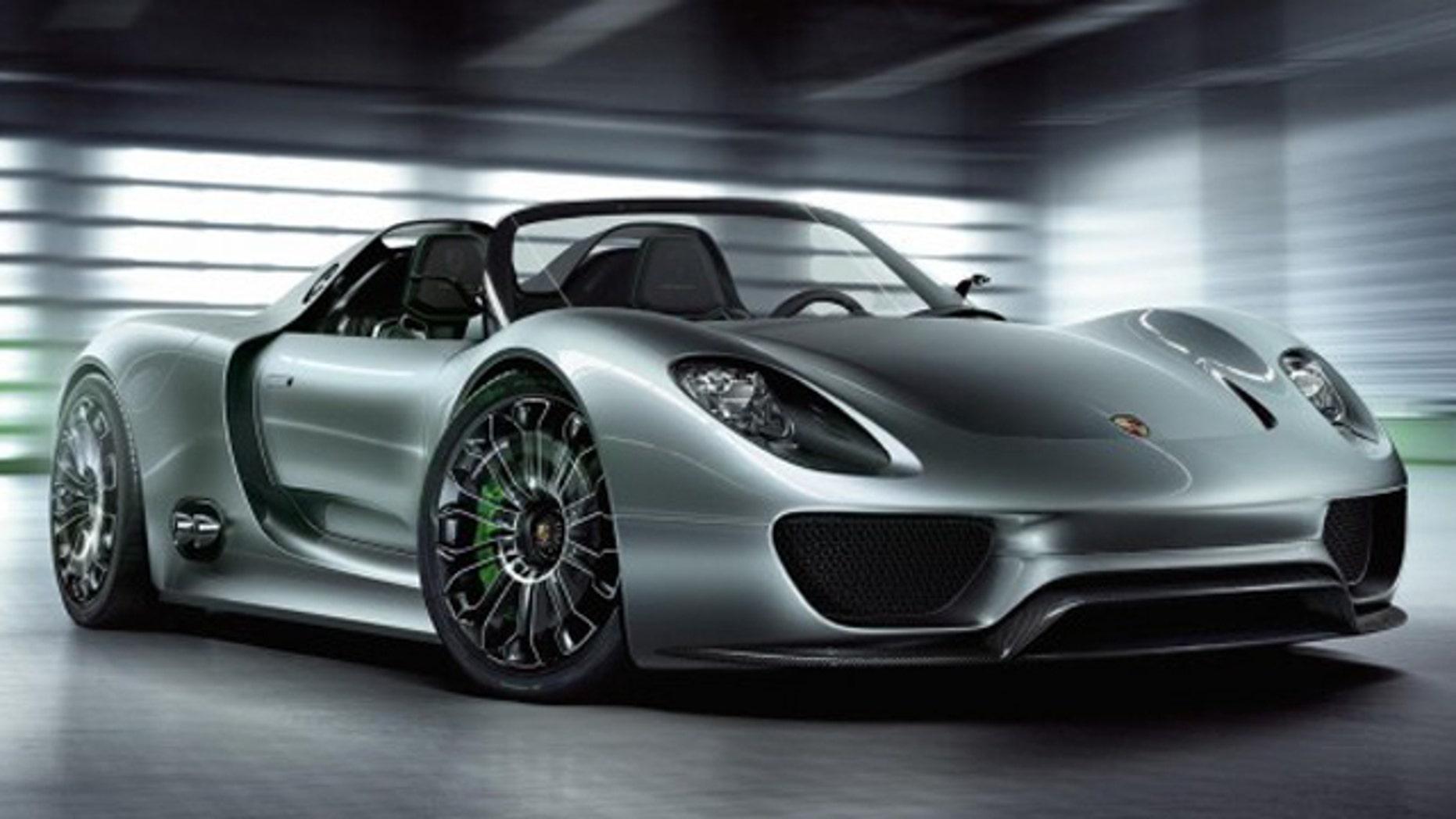 78 Mpg Hybrid Porsche Supercar Gets Green Light