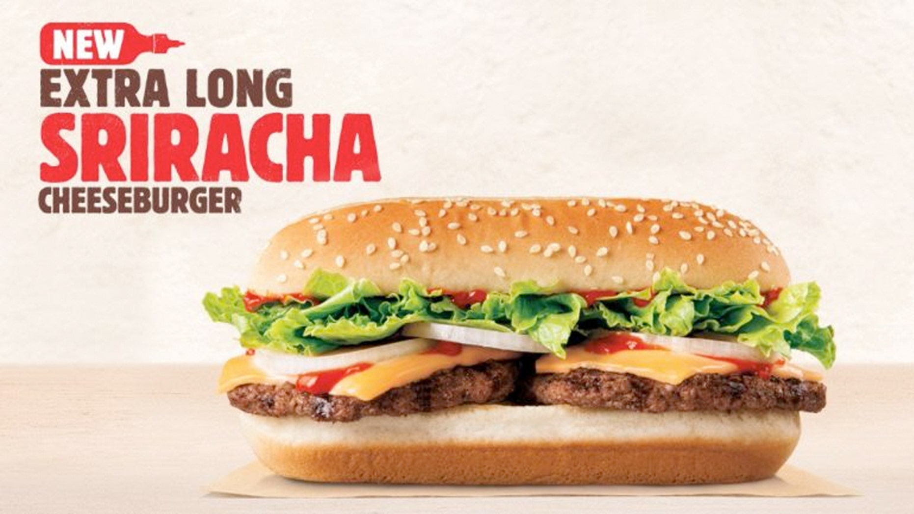 The chain has announced it's adding some spice to it's double-wide burger it first released last summer.