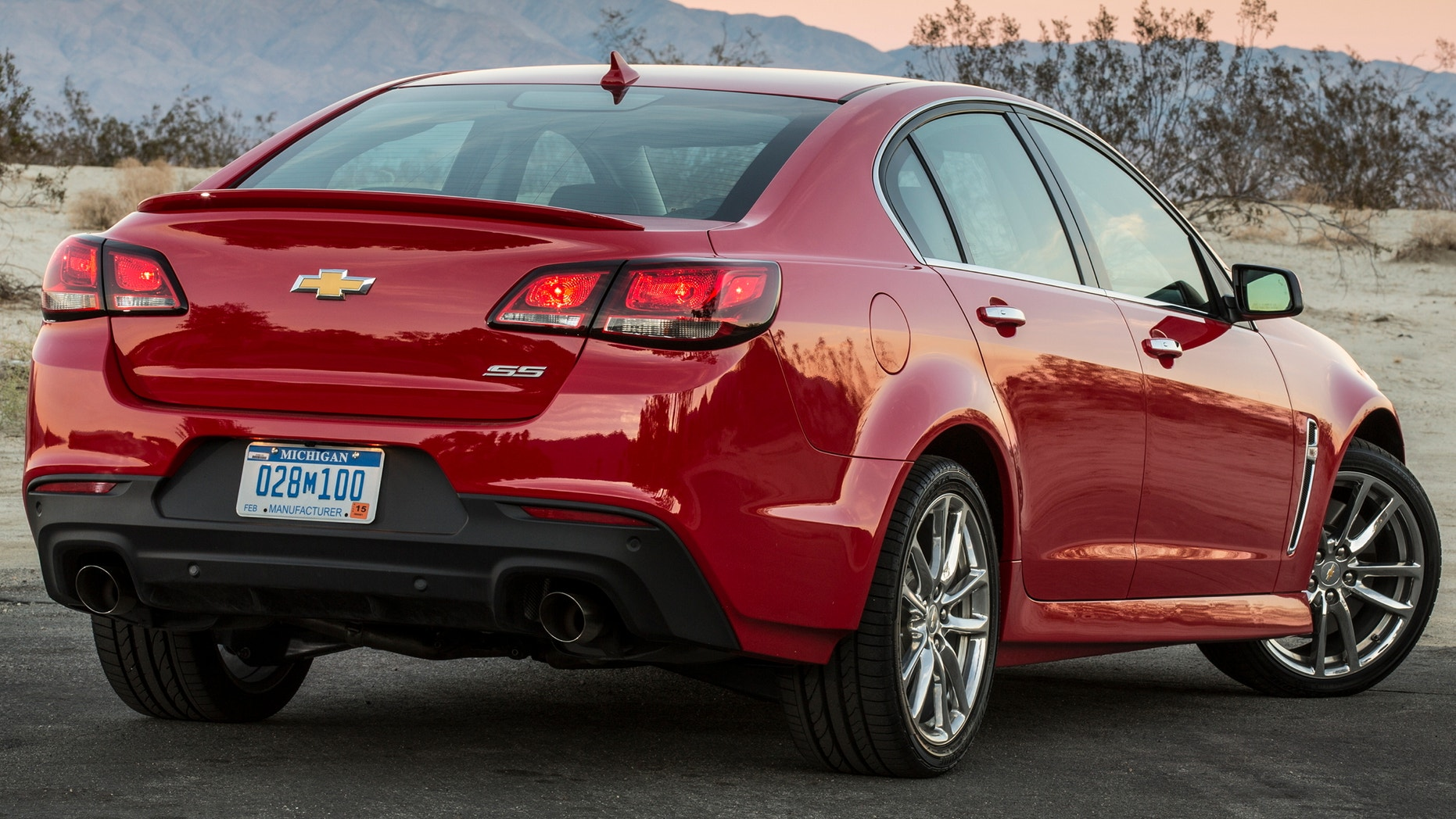 The 2015 Chevrolet SS has a combined fuel economy rating of 17 mpg