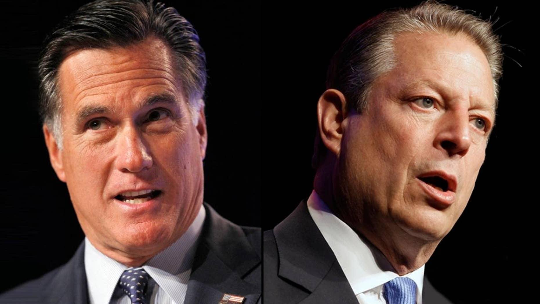 Mitt Romney/Al Gore (AP)