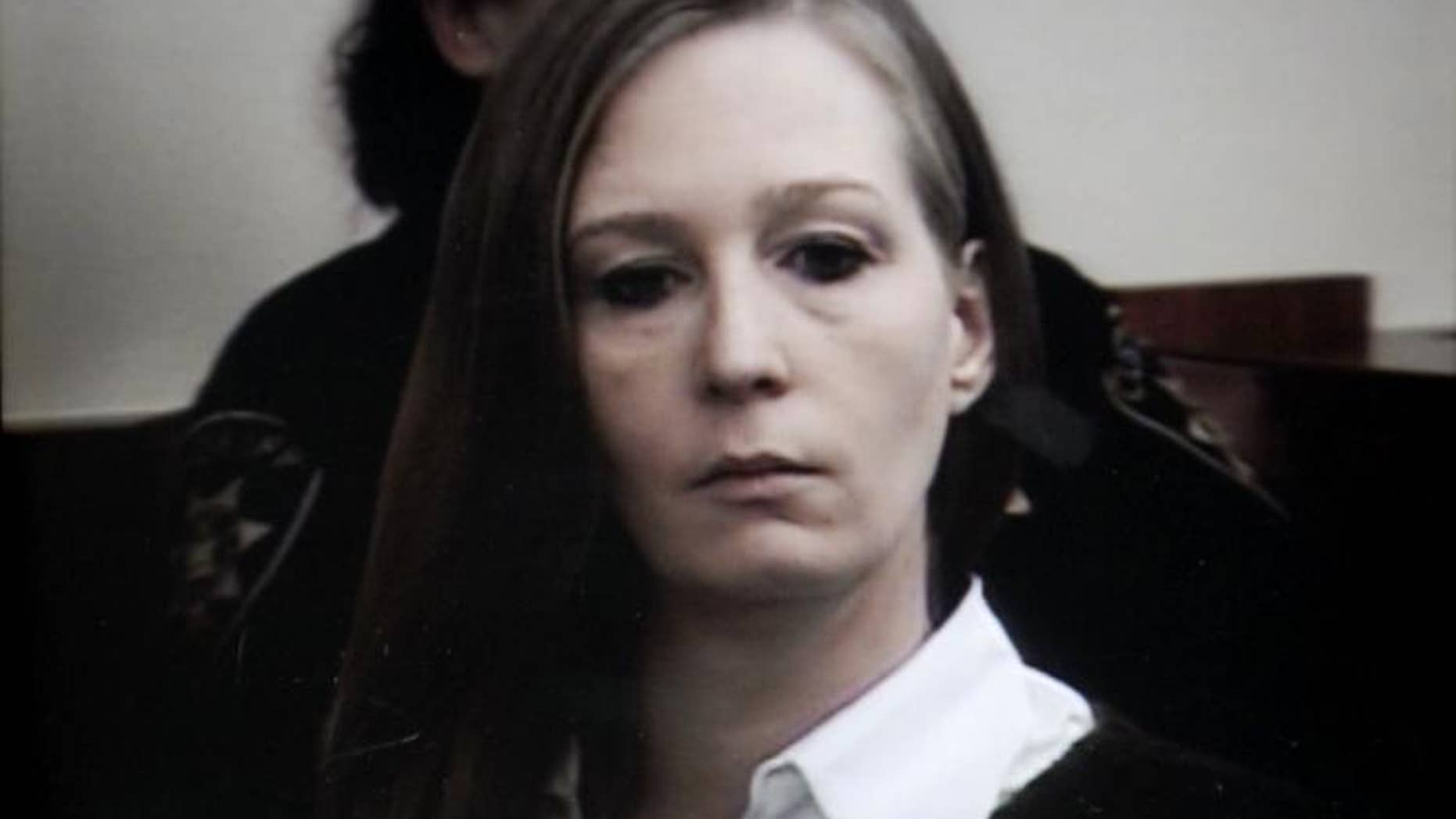 Stacey Castor in court in 2009.