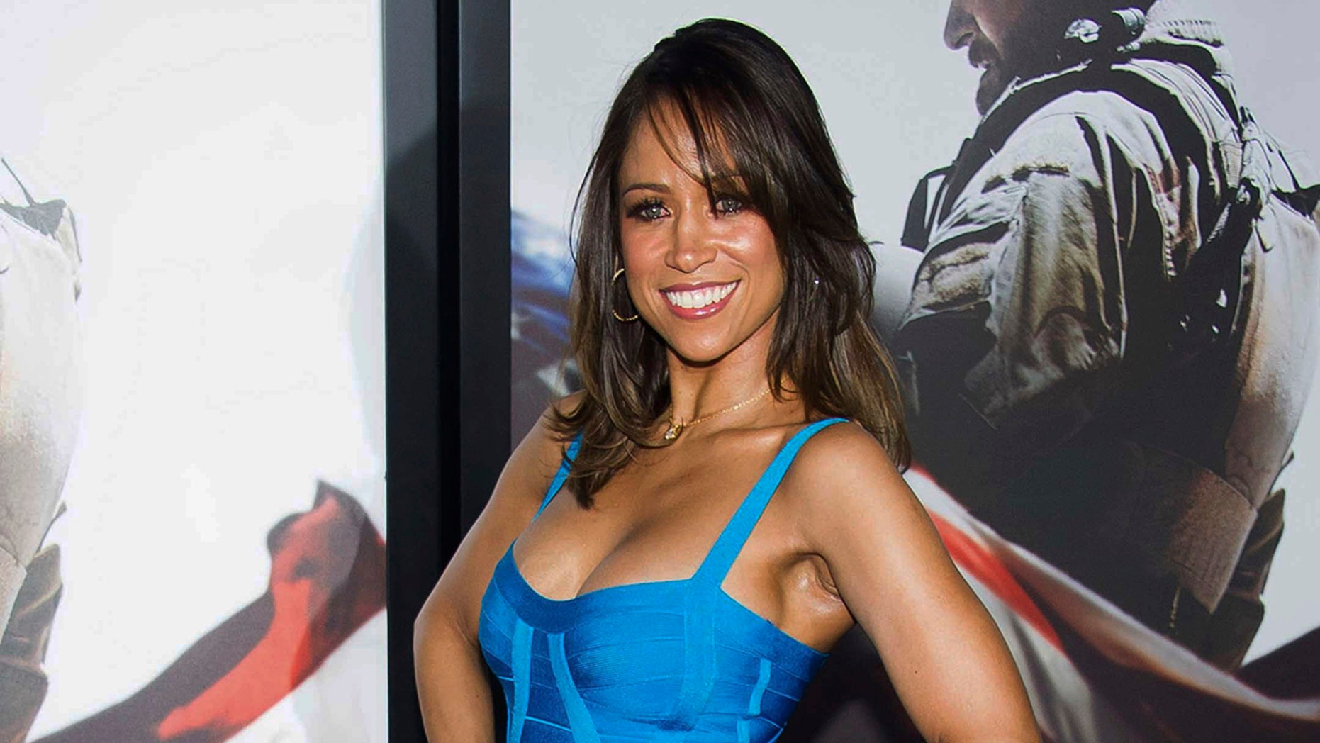 """FILE - In this Dec. 15, 2014, file photo, Stacey Dash attends the """"American Sniper"""" premiere in New York. Dash, the actress turned conservative political commentator, filed paperwork on Monday, Feb. 26, 2018, to run for a congressional seat in Southern California. (Photo by Charles Sykes/Invision/AP, File)"""