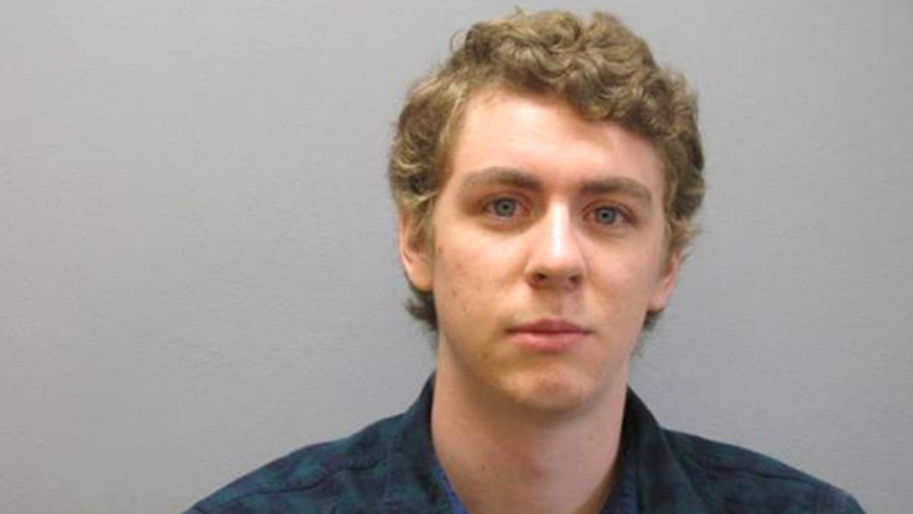 This Tuesday, Sept. 6, 2016 released by the Greene County Sheriff's Office, photo shows Brock Turner at the Greene County Sheriff's Office in Xenia, Ohio.