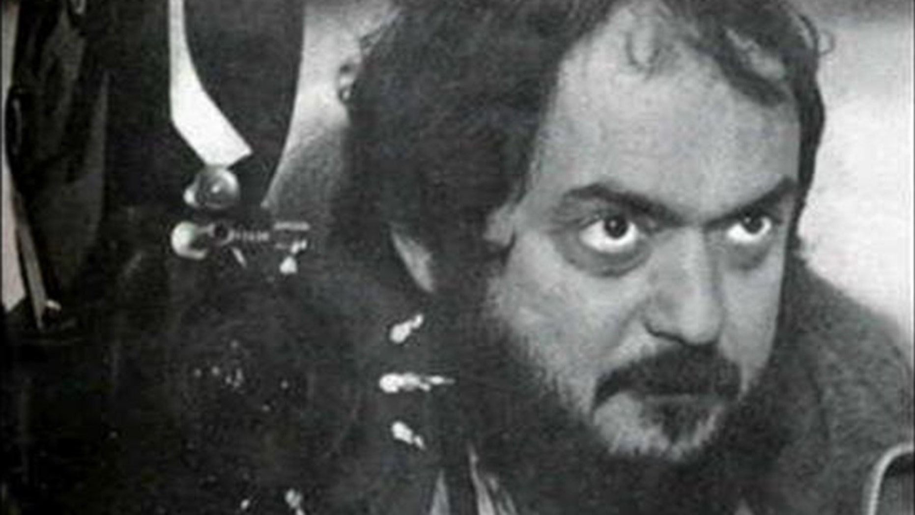 Stanley Kubrick pictured in 1983.
