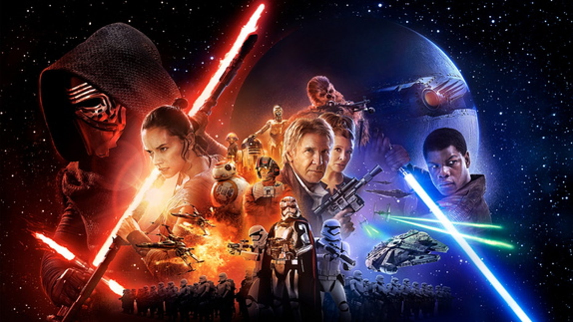 """Talk about a megastructure: """"Star Wars: The Force Awakens"""" features a superweapon carved from a planet."""