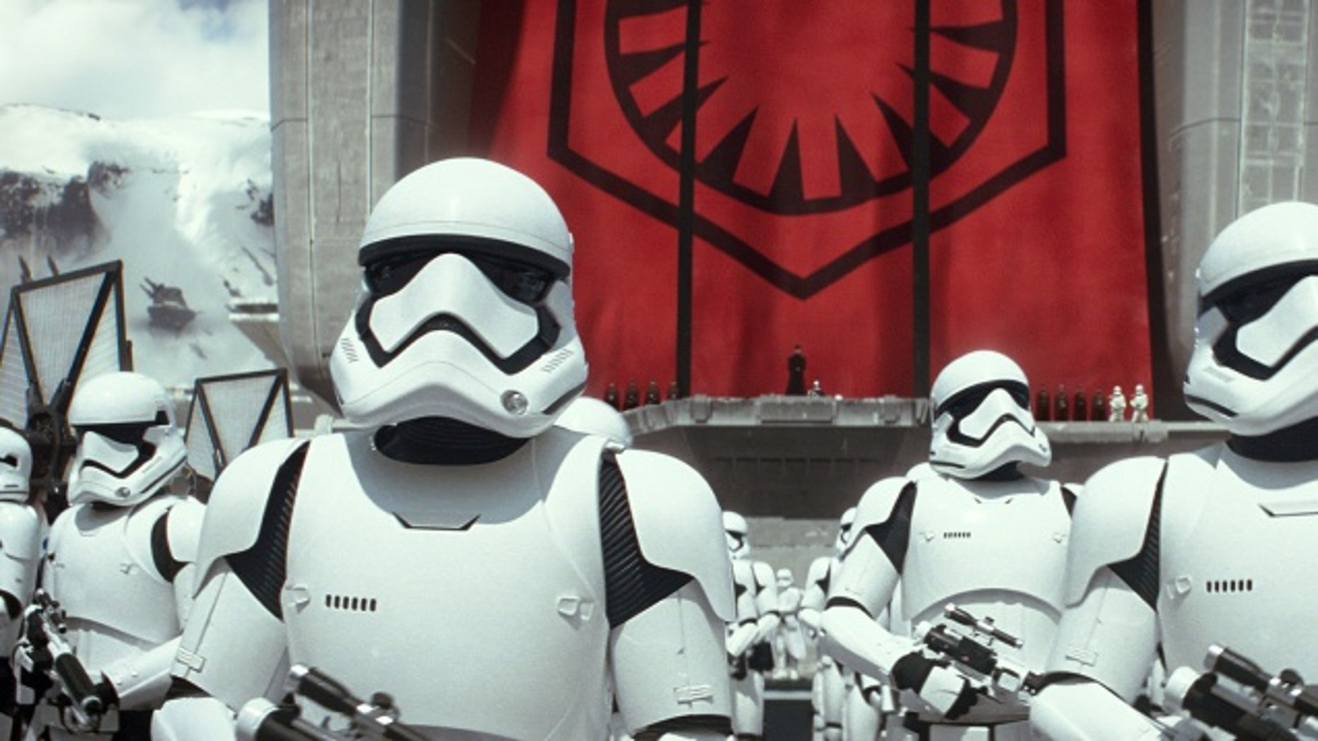"""""""Star Wars: The Force Awakens"""" has reached $1 billion at the box office"""