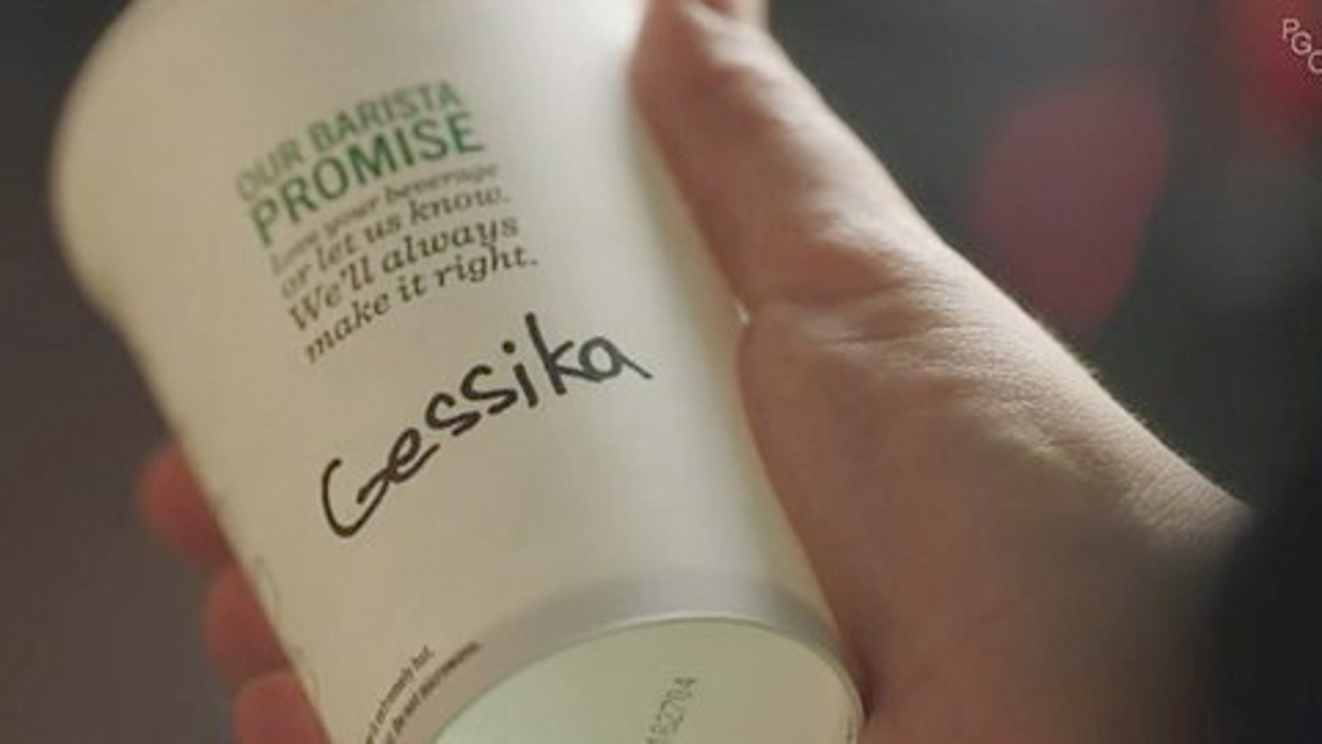 Oh it's Jessica, not Gessika!