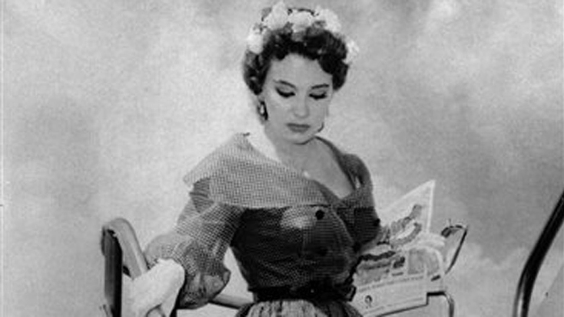 Sept. 2, 1959: Blaze Starr, a burlesque star and stripper, arrives in New Orleans by plane from Miami to visit Louisiana Gov. Earl K. Long.