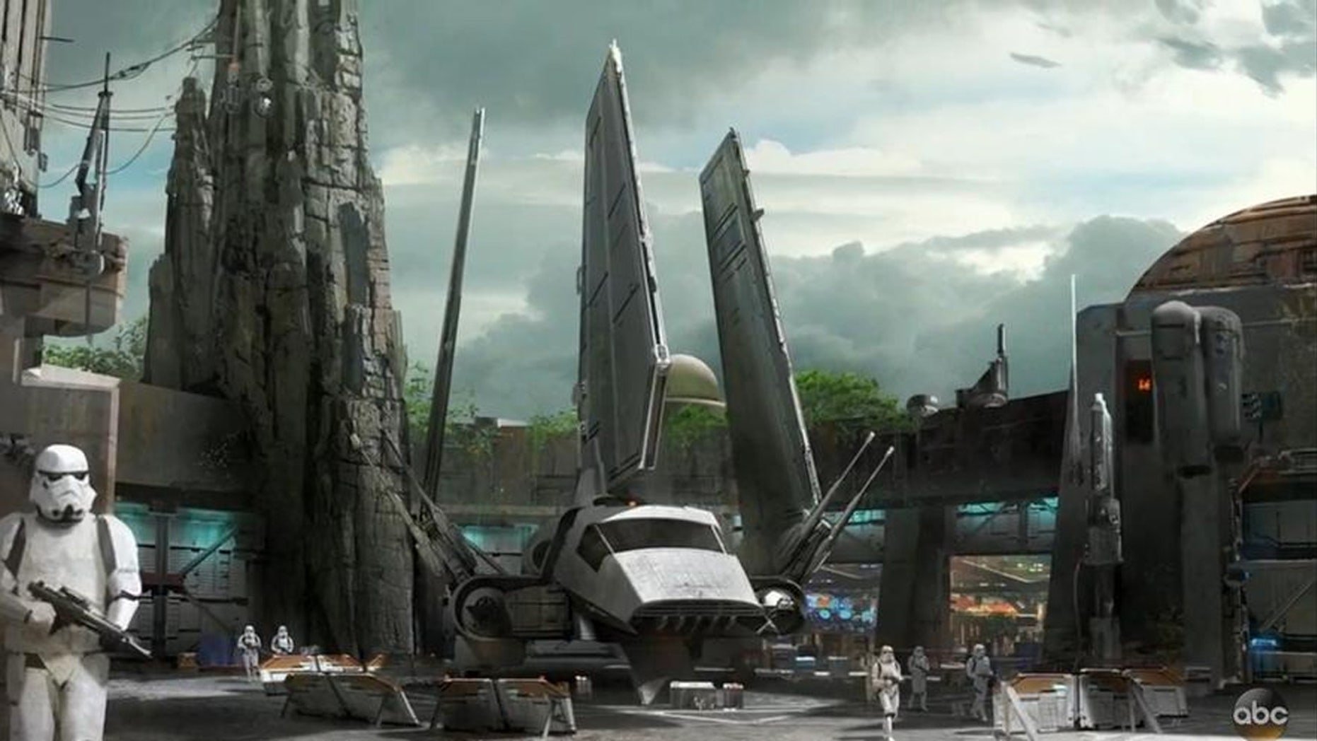 The Star Wars Experience will be located at Disneyland in California and at Disney's Hollywood studios at Walt Disney World in Florida.