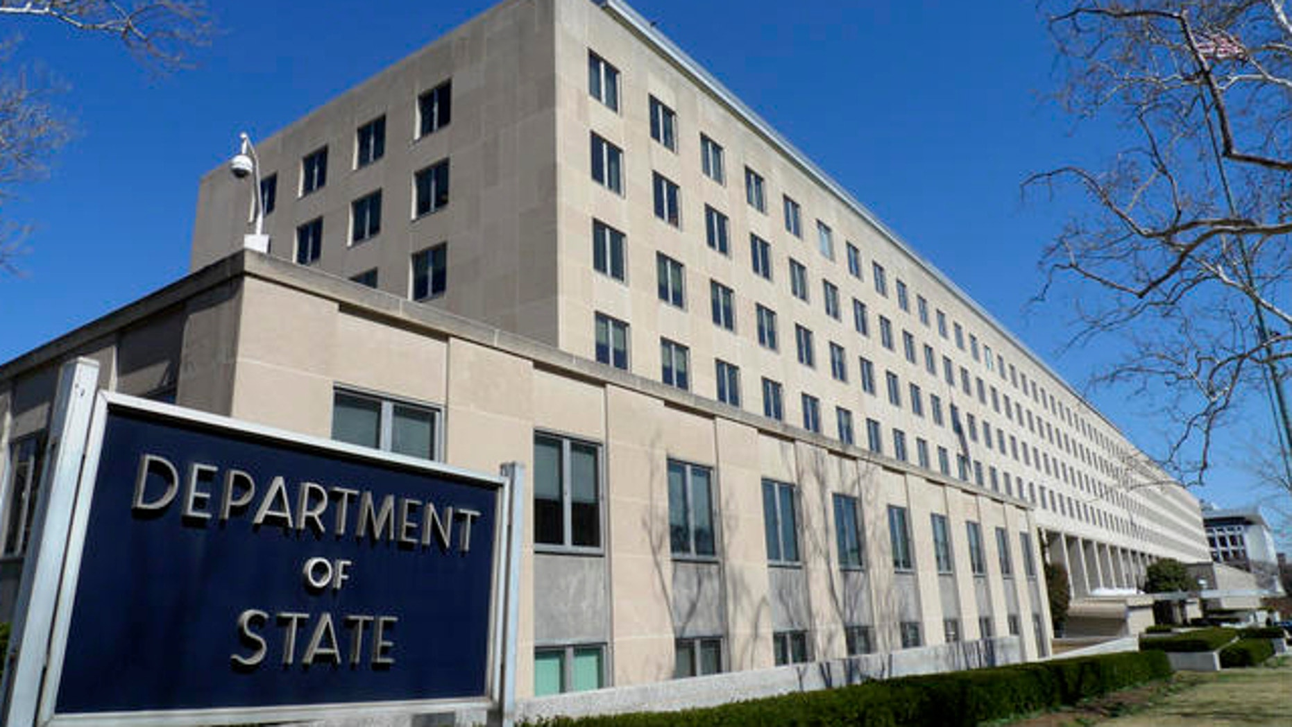 March 9, 2009: This photo shows State Department headquarters in Washington, D.C.