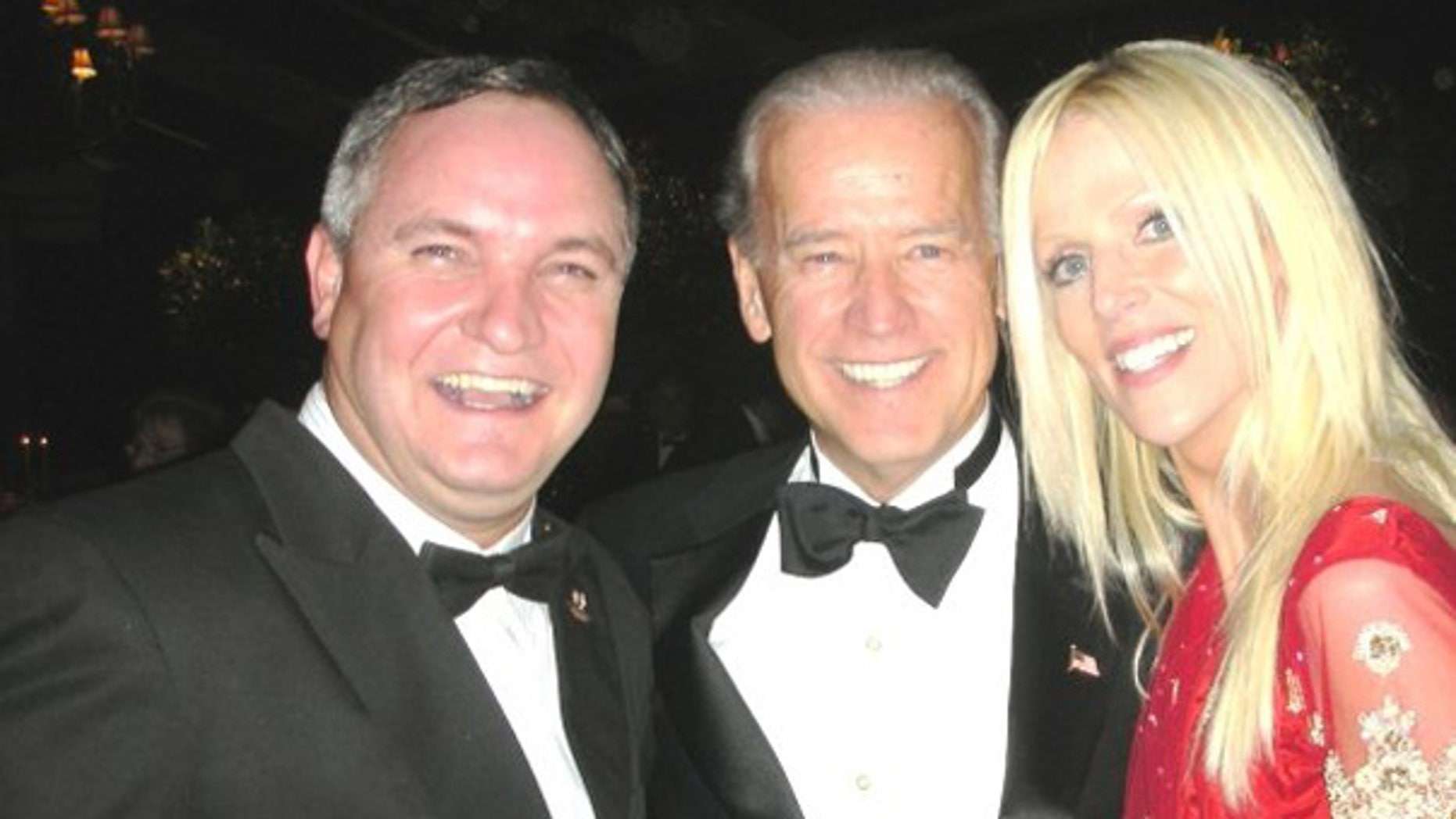 Virginia couple, seen in this photo posted on personal Facebook page, apparently breached security at a White House dinner.