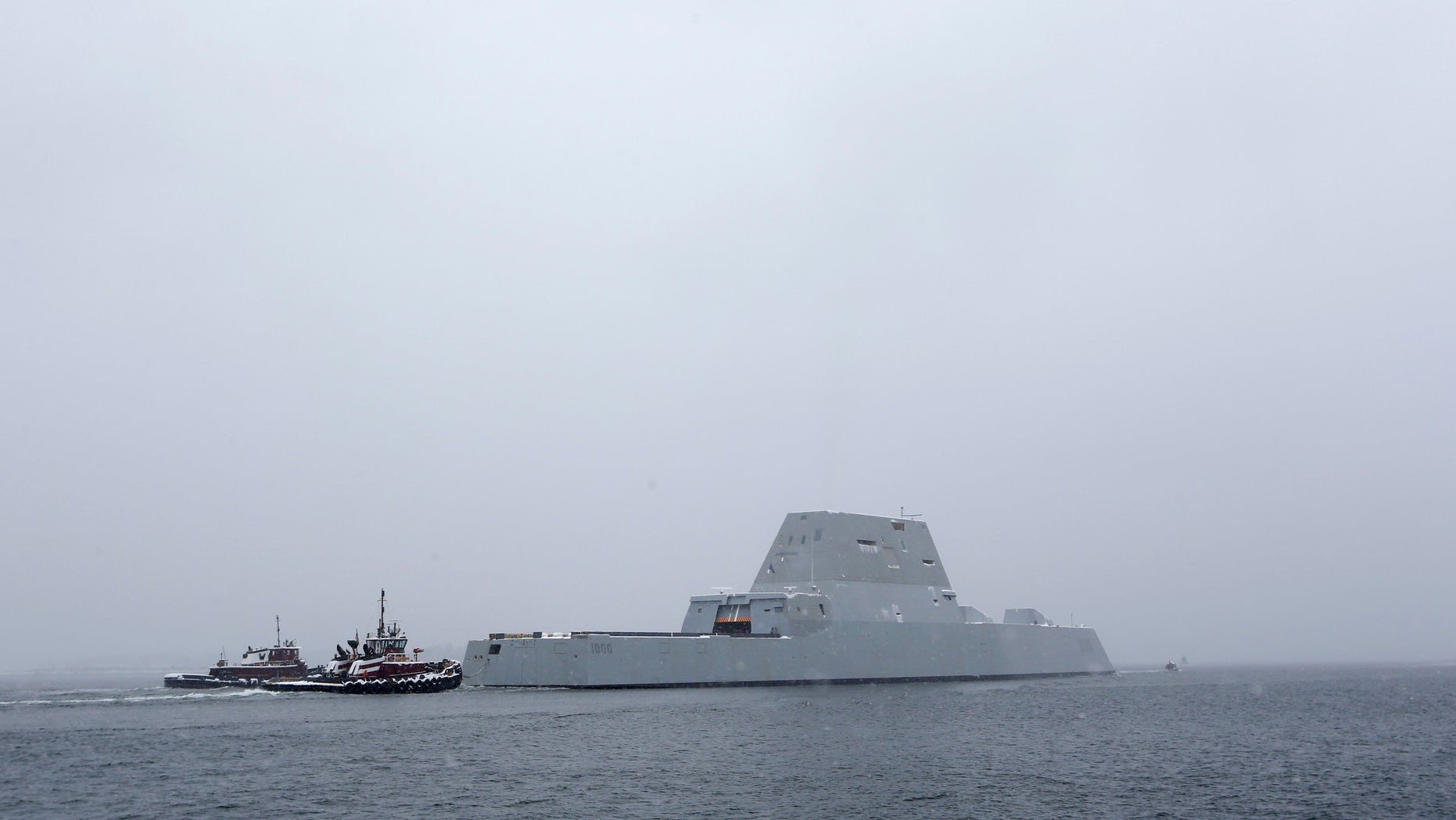 The USS Zumwalt is the Navy's new guided missile destroyer.