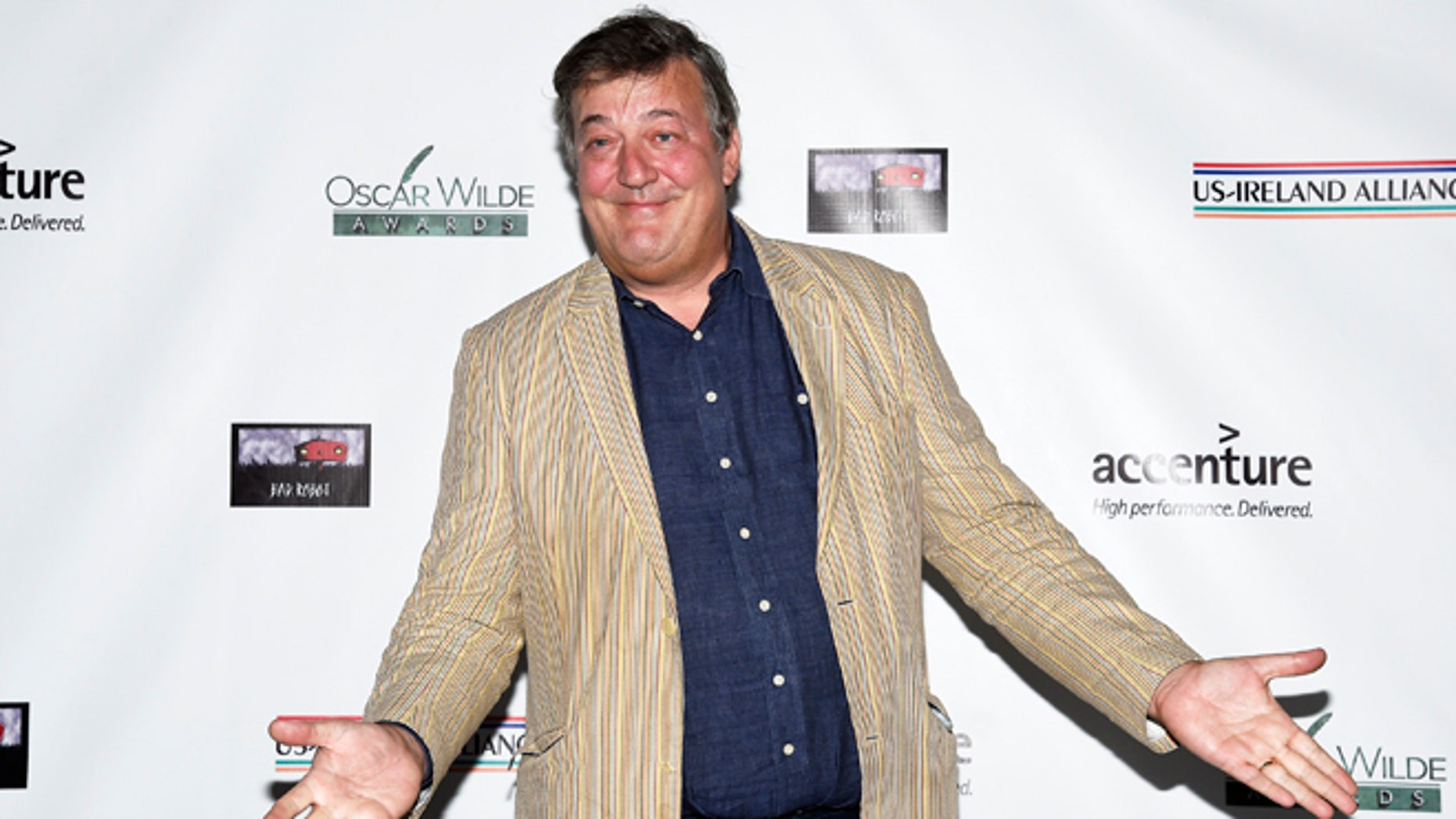 Comededian Stephen Fry is reportedly the focus of a blasphemy complaint.