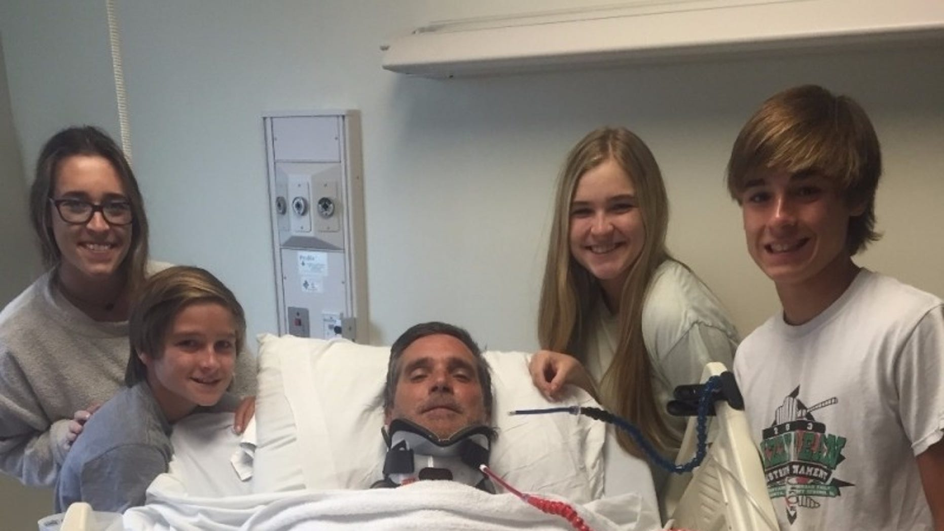Stephen Franke was paralyzed in a bodysurfing accident.