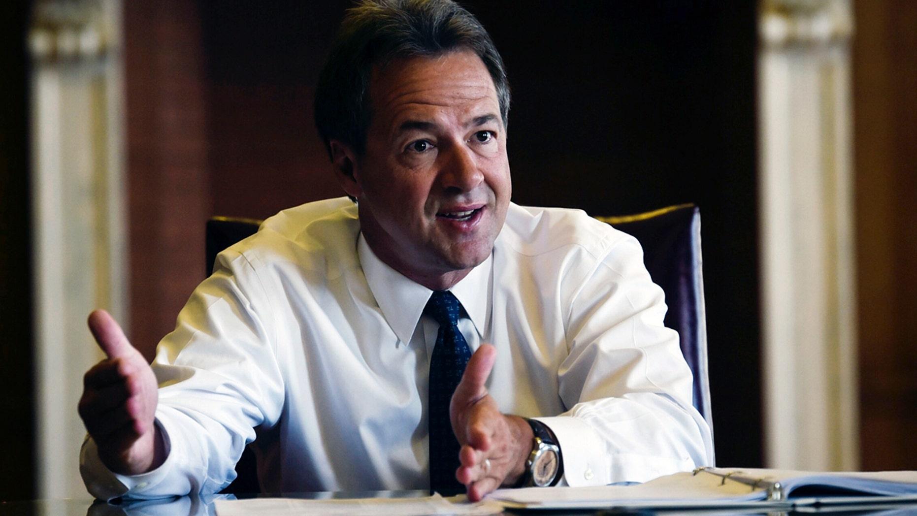 Montana Gov. Steve Bullock is believed to be considering a run for president in 2020.