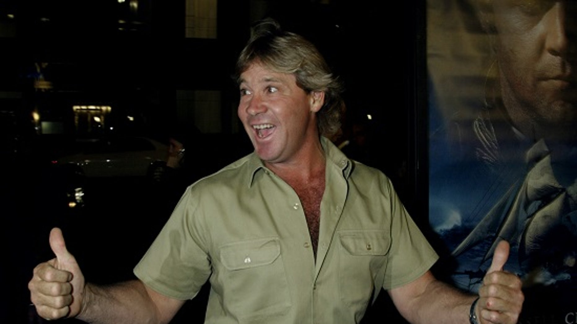 Australian environmentalist, Steve Irwin, will be posthumously honored with a star on the Hollywood Walk of Fame in 2018.