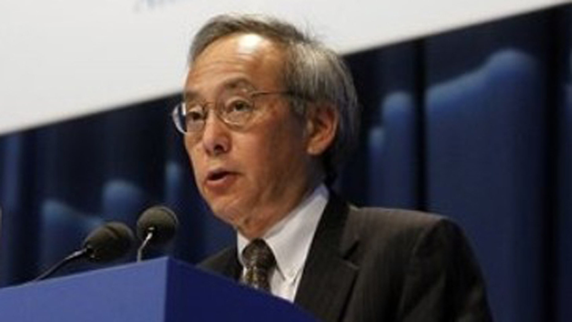 Sept. 19: U.S. Energy Secretary Steven Chu delivers a speech at the general conference of the IAEA, at the International Center in Vienna, Austria.